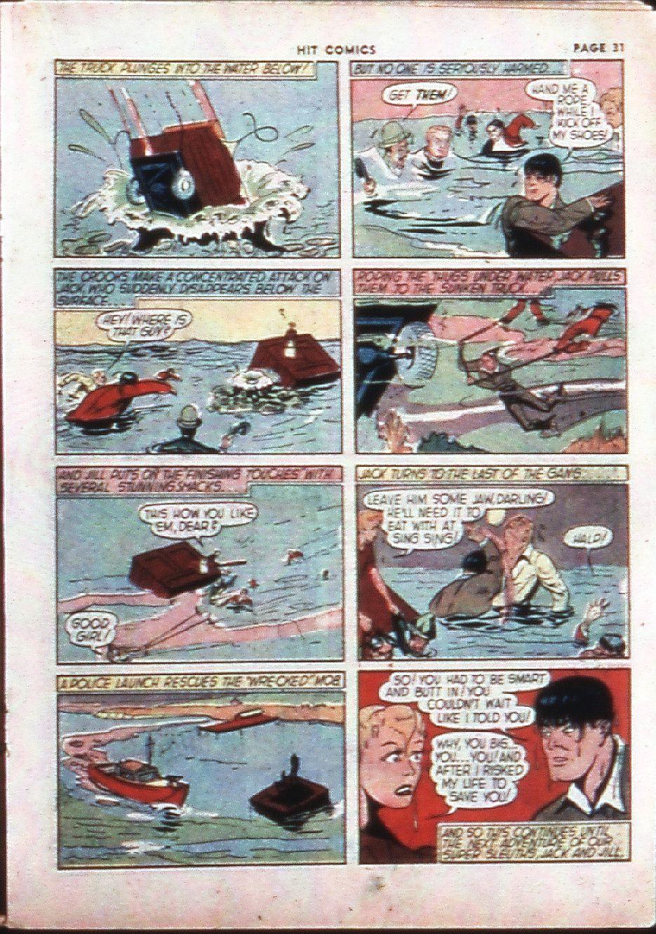 Read online Hit Comics comic -  Issue #4 - 33