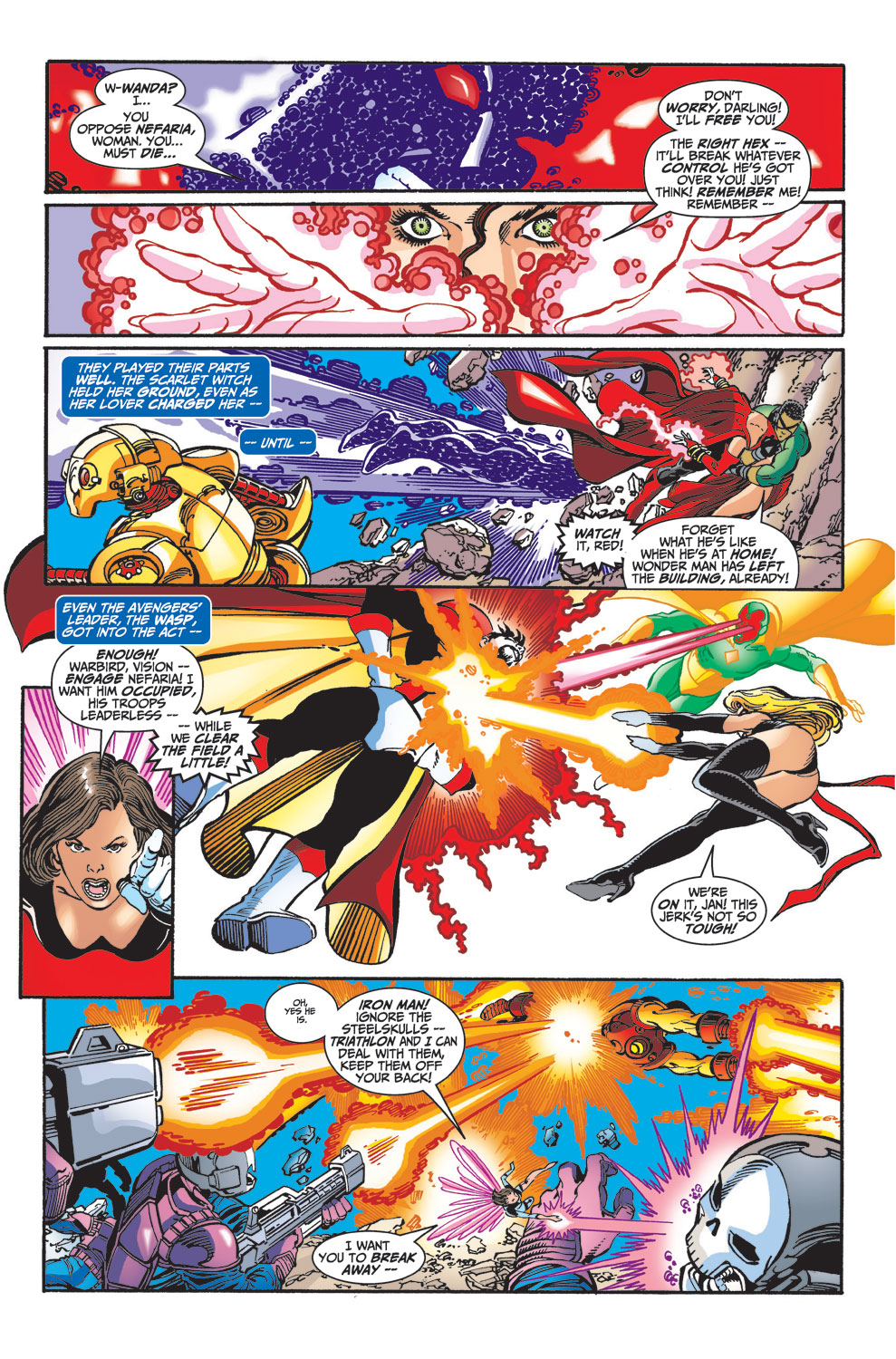 Read online Avengers (1998) comic -  Issue #33 - 4