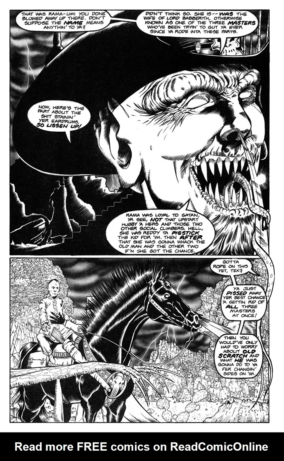 Read online Gunfighters in Hell comic -  Issue #2 - 25