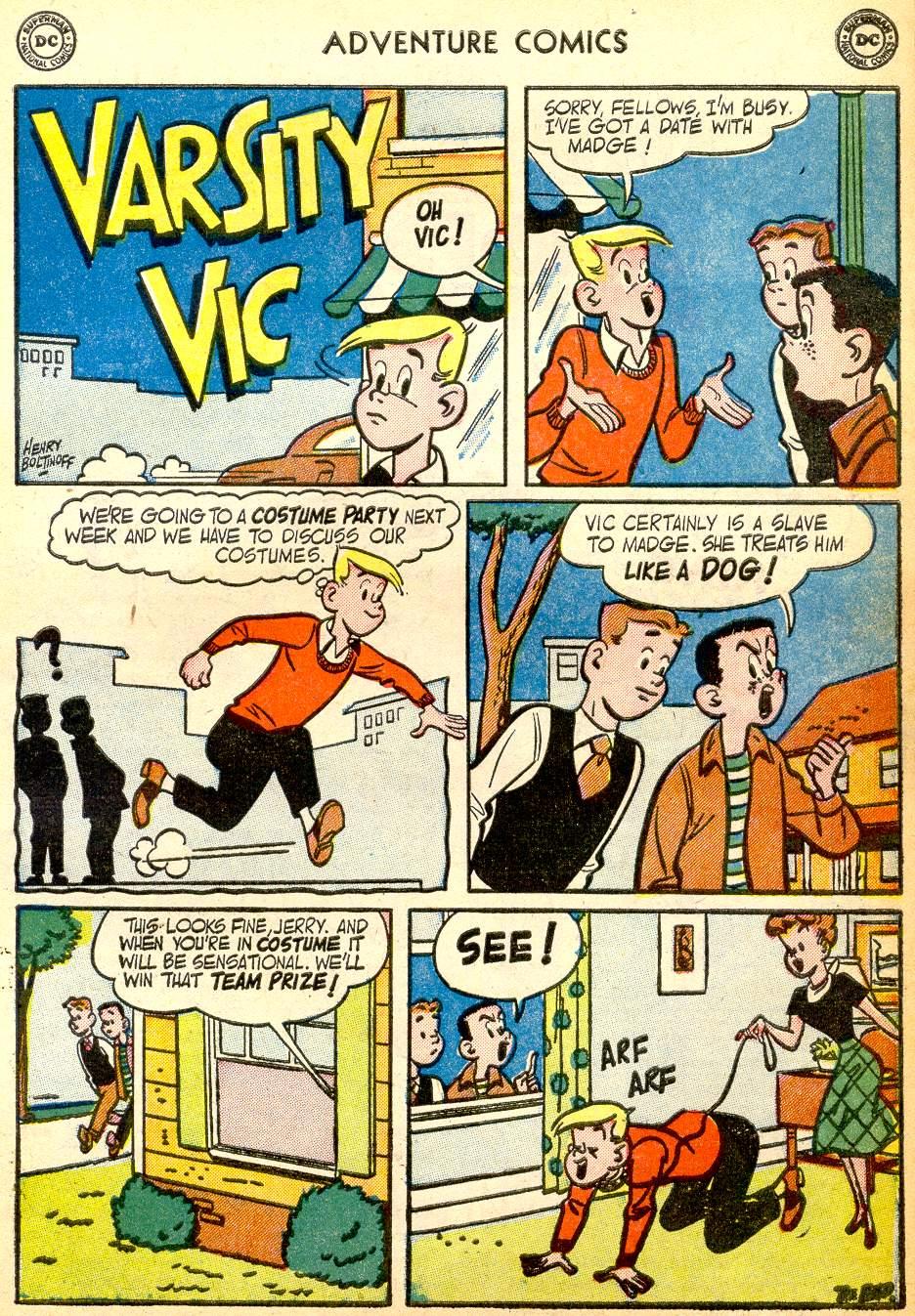 Read online Adventure Comics (1938) comic -  Issue #191 - 33