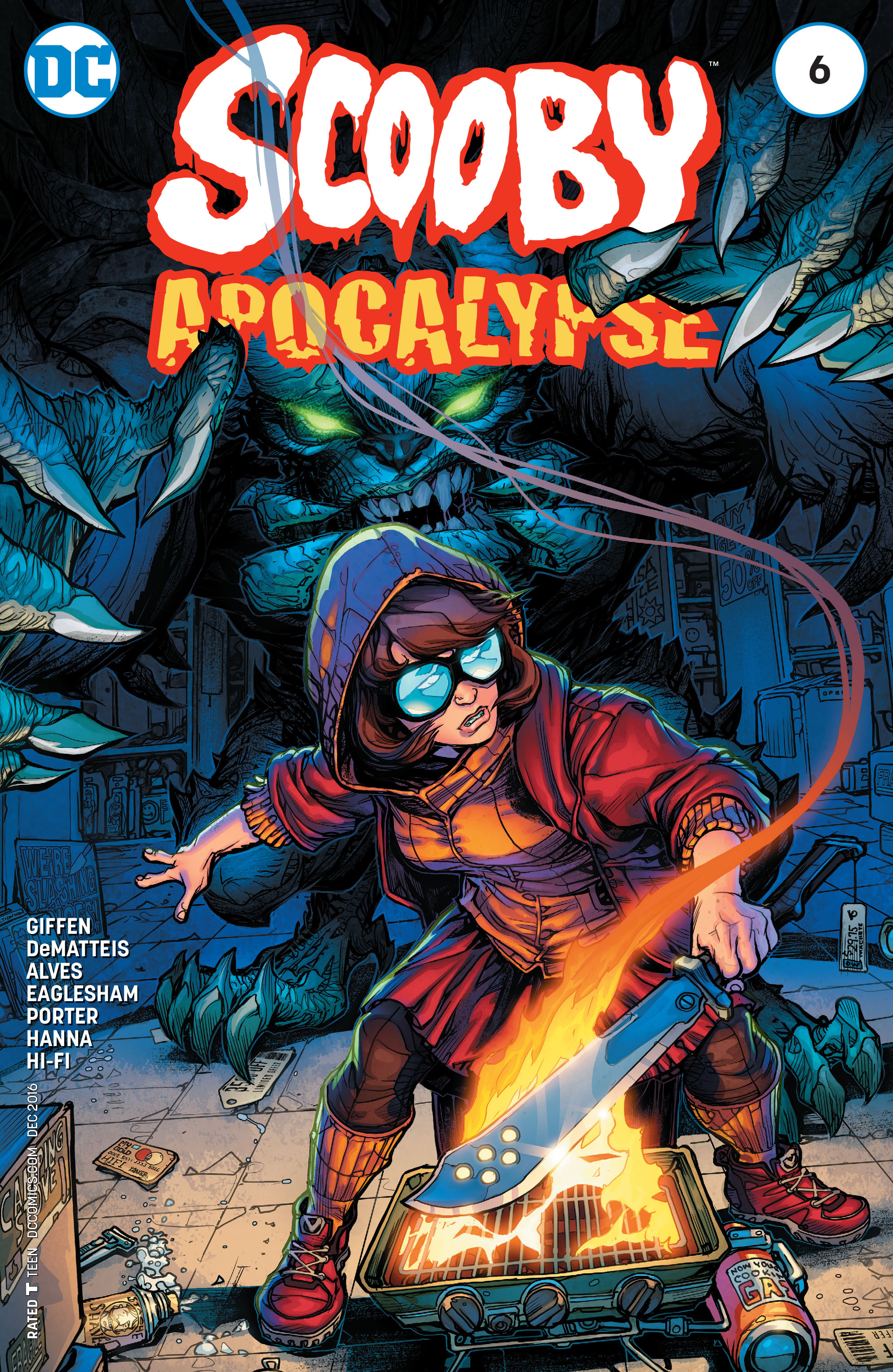 Read online Scooby Apocalypse comic -  Issue #6 - 1