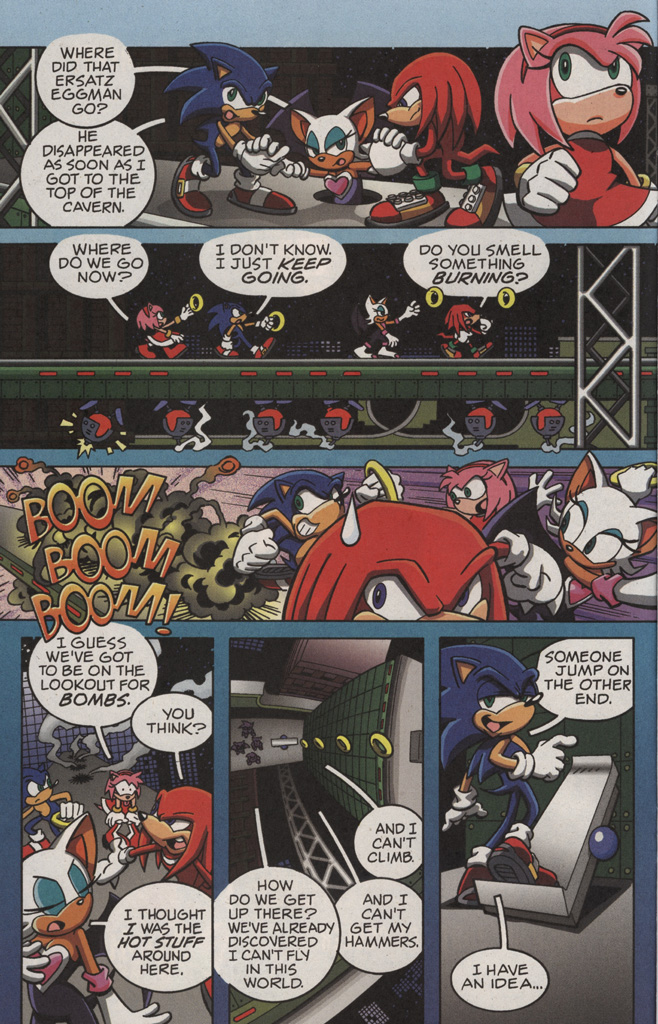 Read online Sonic X comic -  Issue #11 - 18
