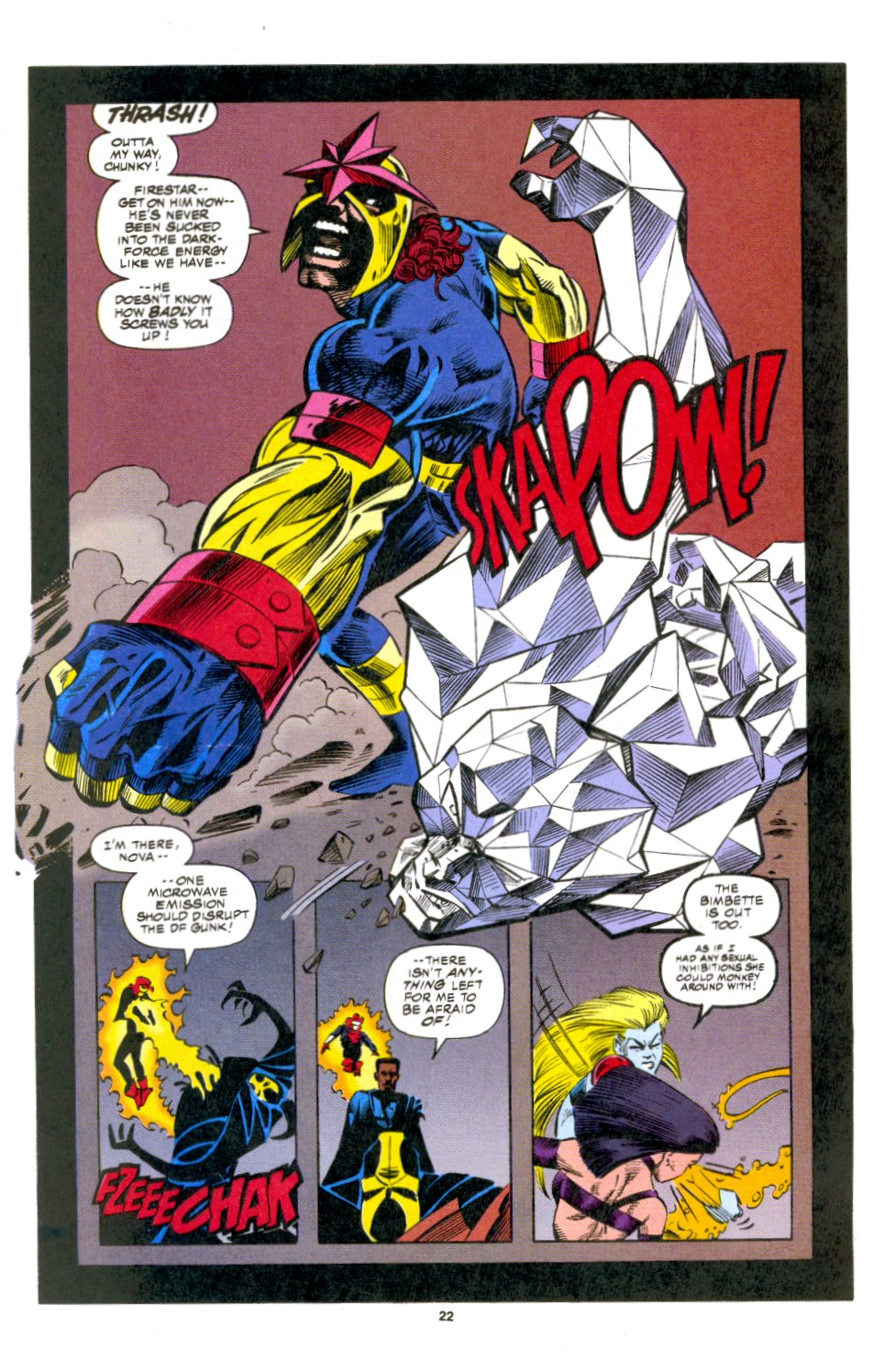 The New Warriors Issue #53 #57 - English 16