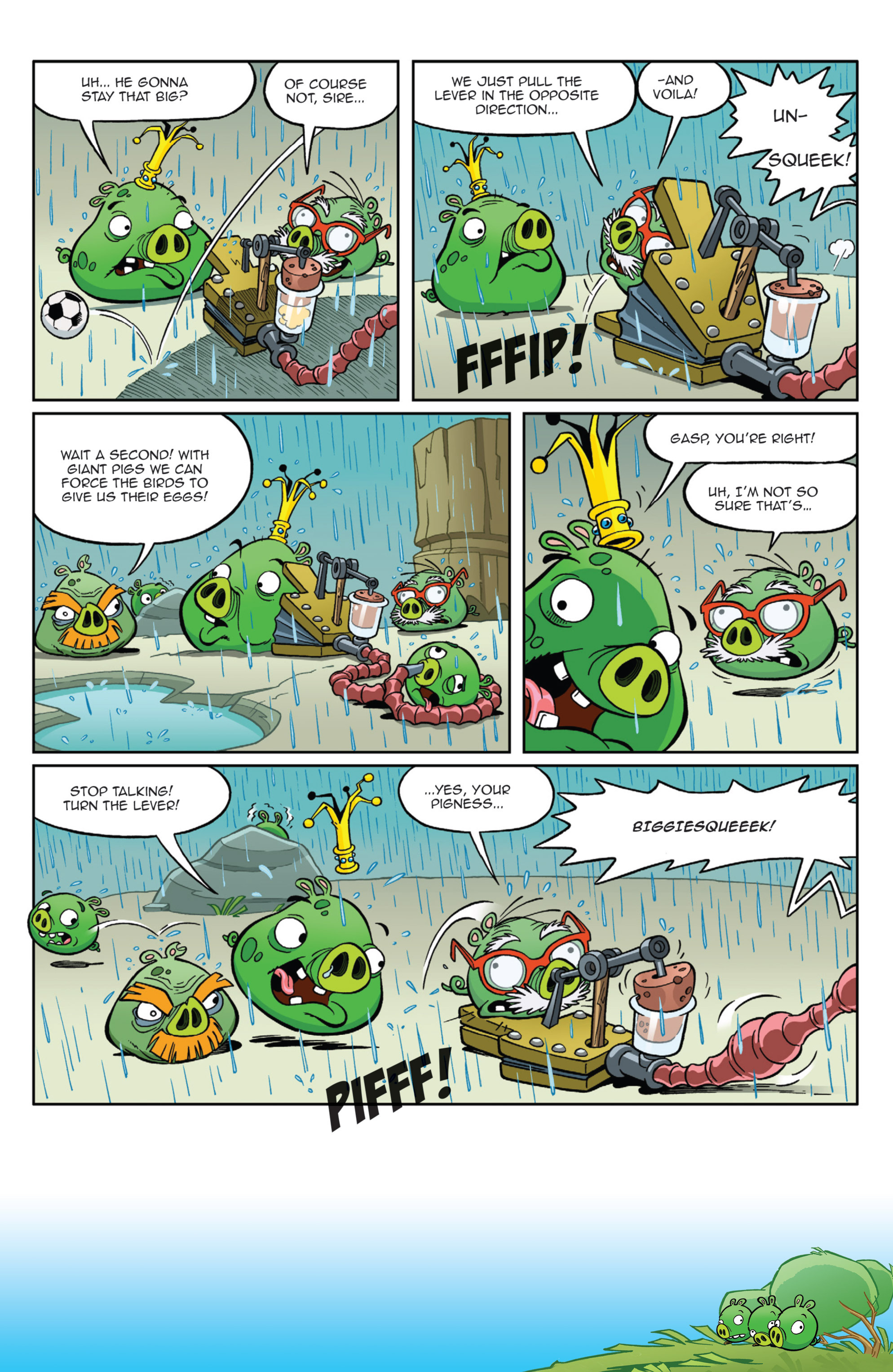 Read online Angry Birds Comics (2014) comic -  Issue #9 - 5