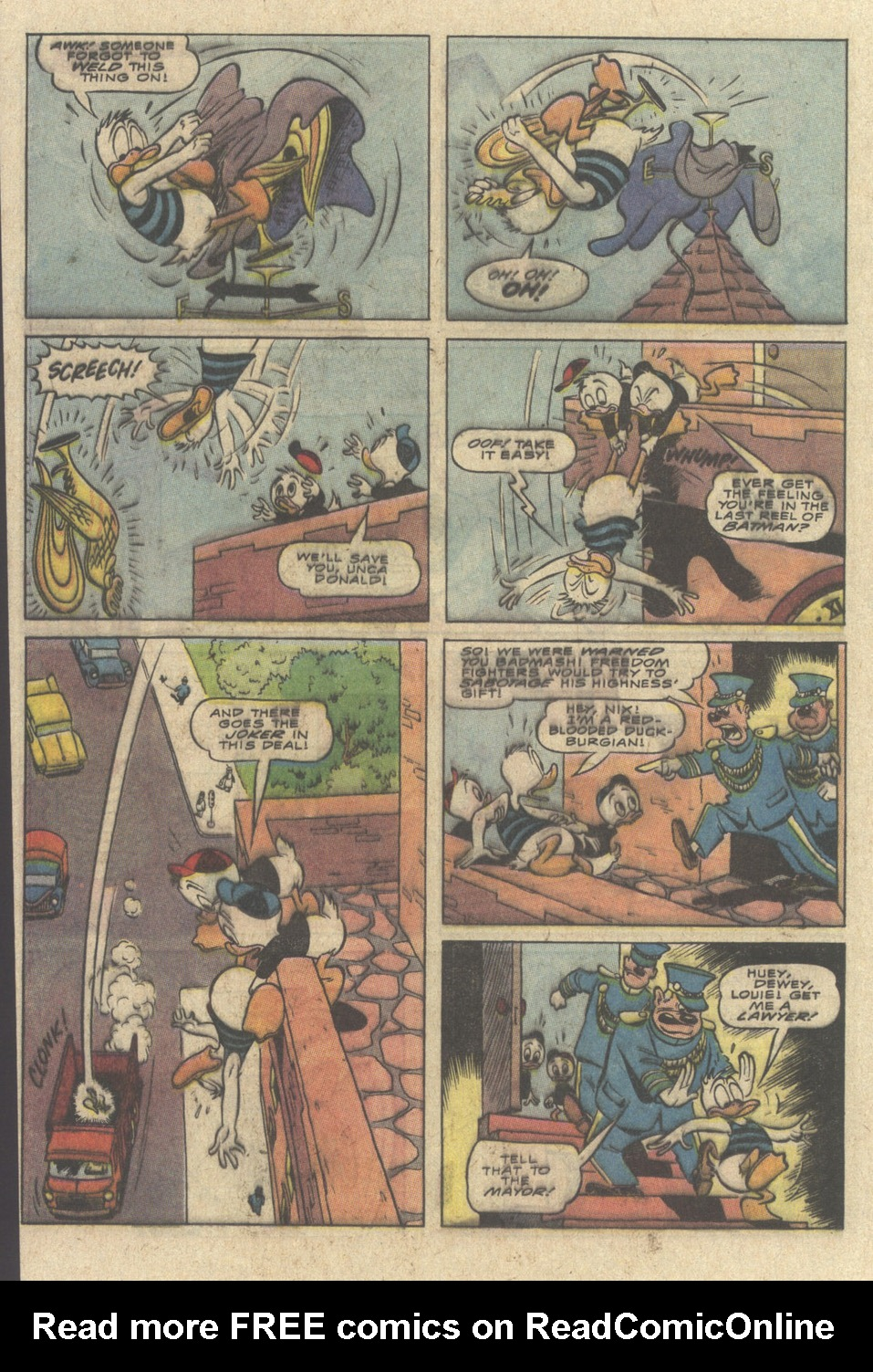 Read online Uncle Scrooge (1953) comic -  Issue #241 - 40