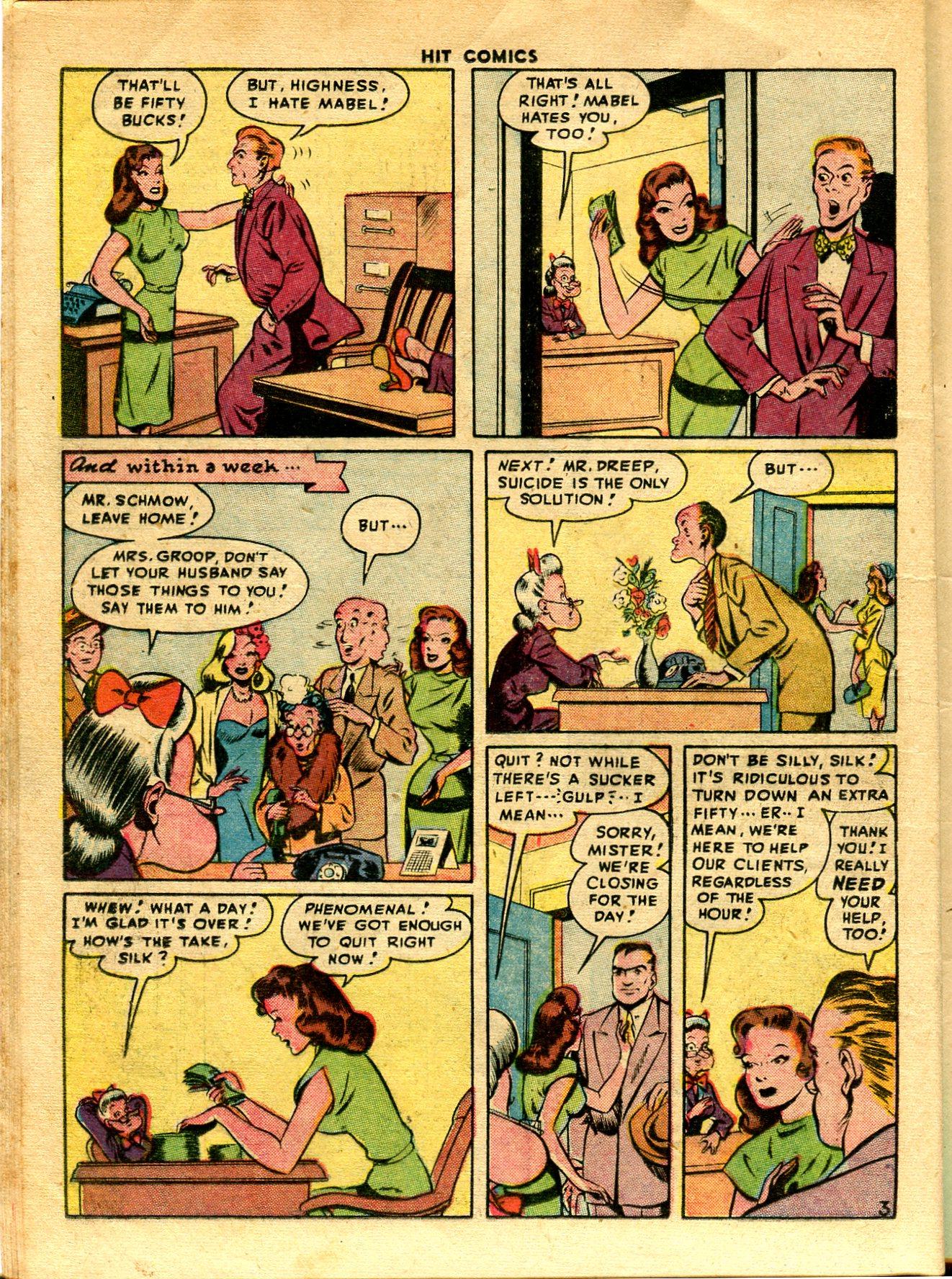 Read online Hit Comics comic -  Issue #48 - 18