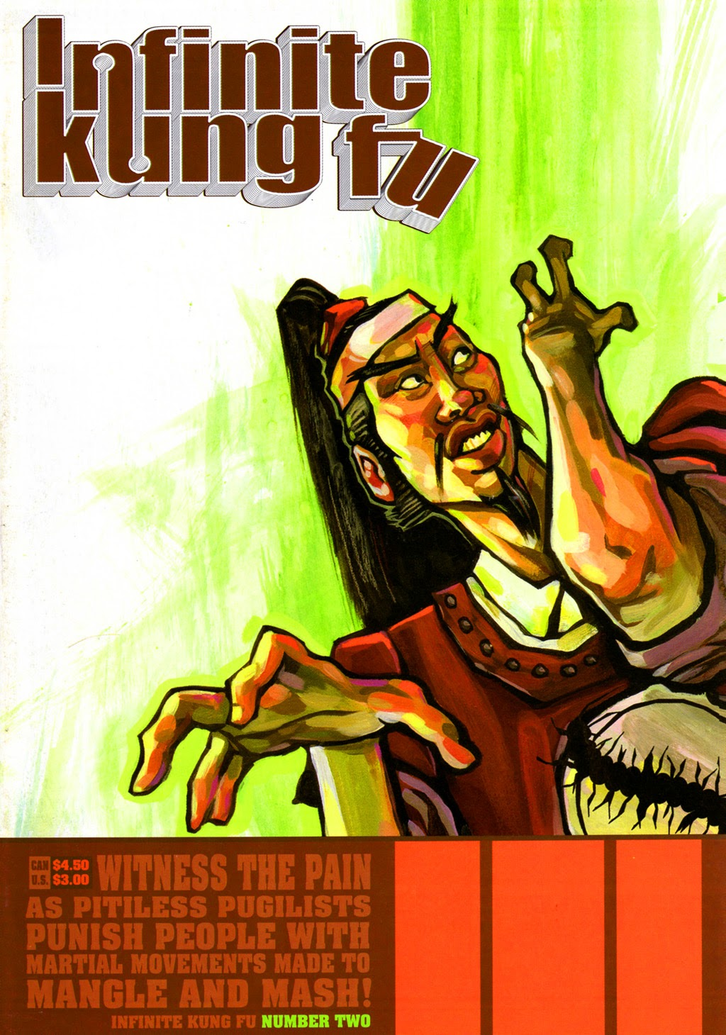 Infinite Kung Fu issue 2 - Page 1