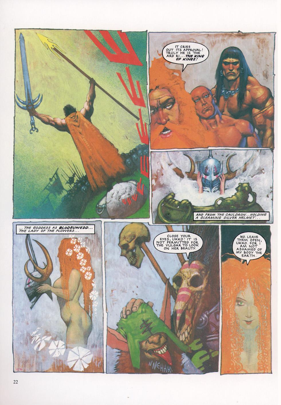 Read online Slaine: The Horned God (1993) comic -  Issue #4 - 23