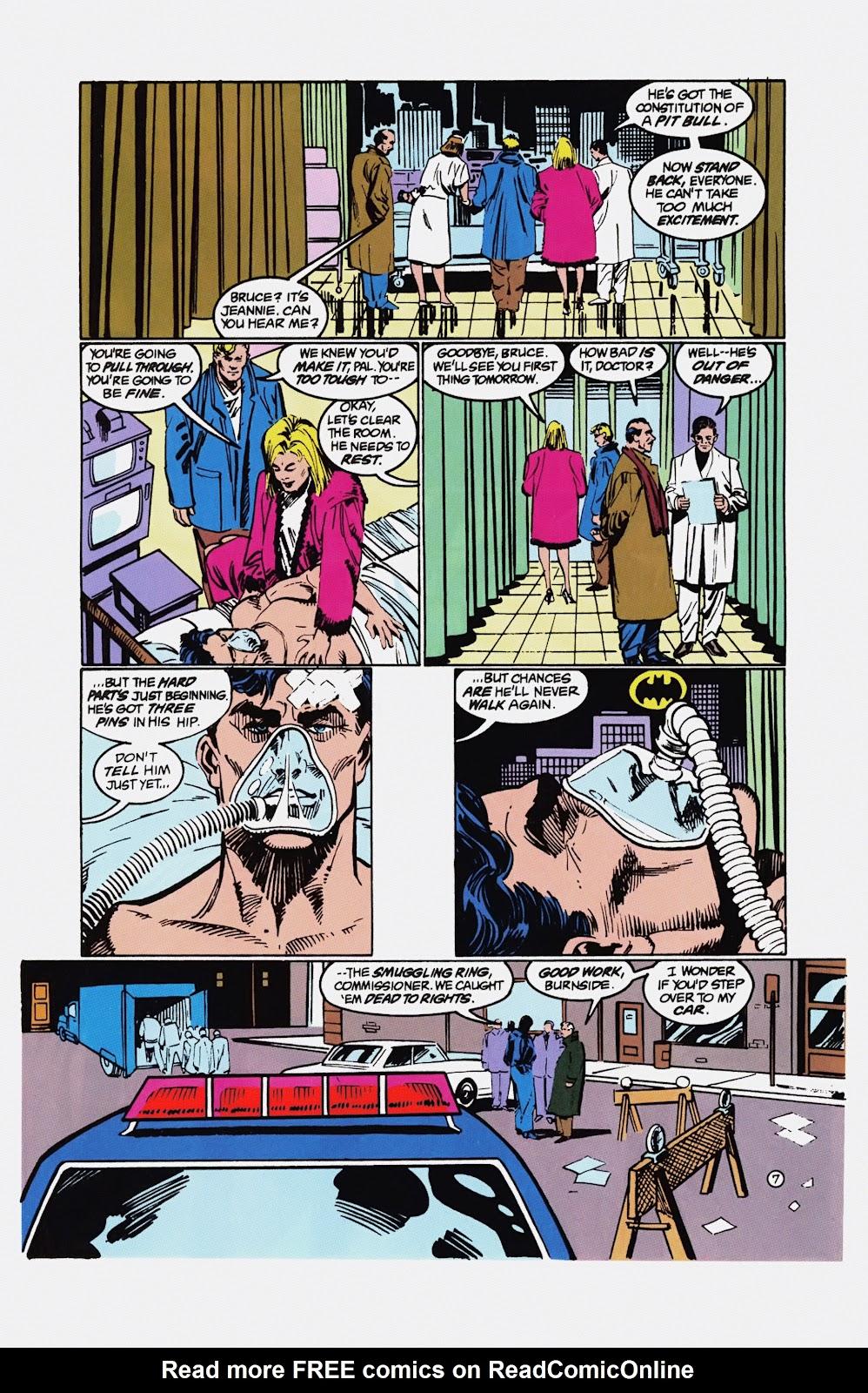 Read online Detective Comics (1937) comic -  Issue # _TPB Batman - Blind Justice (Part 1) - 94