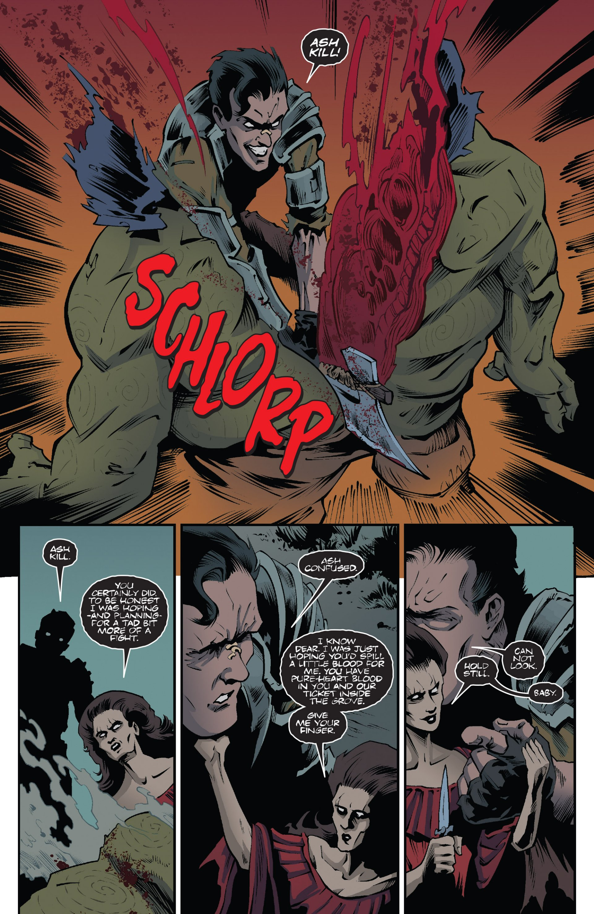 Read online Ash and the Army of Darkness comic -  Issue #7 - 16