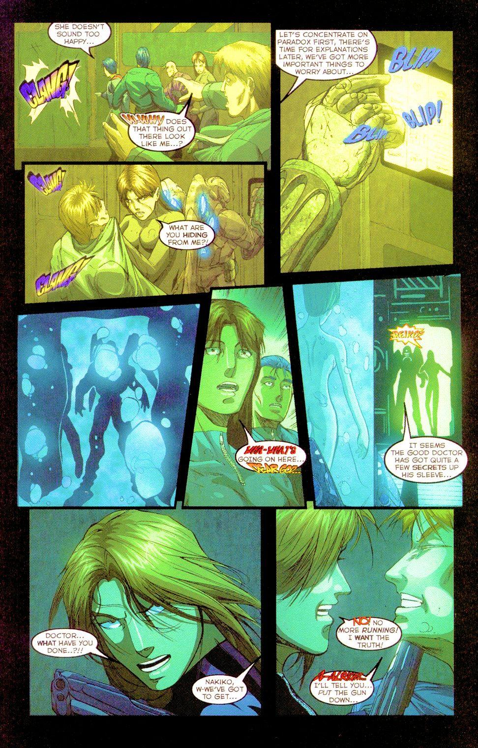 Darkminds (1998) Issue #8 #9 - English 18