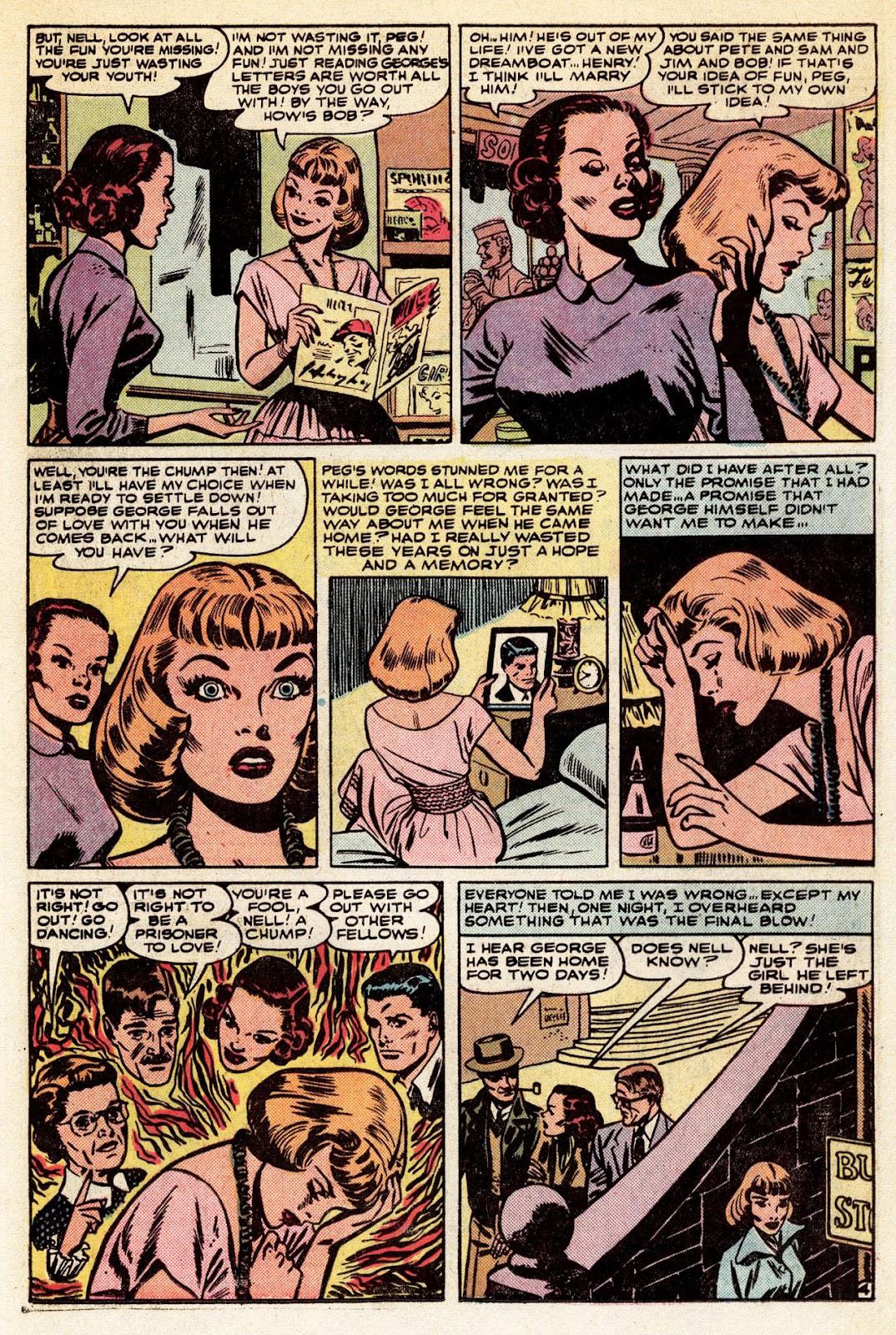 Love Romances (1949) issue 34 - Page 11