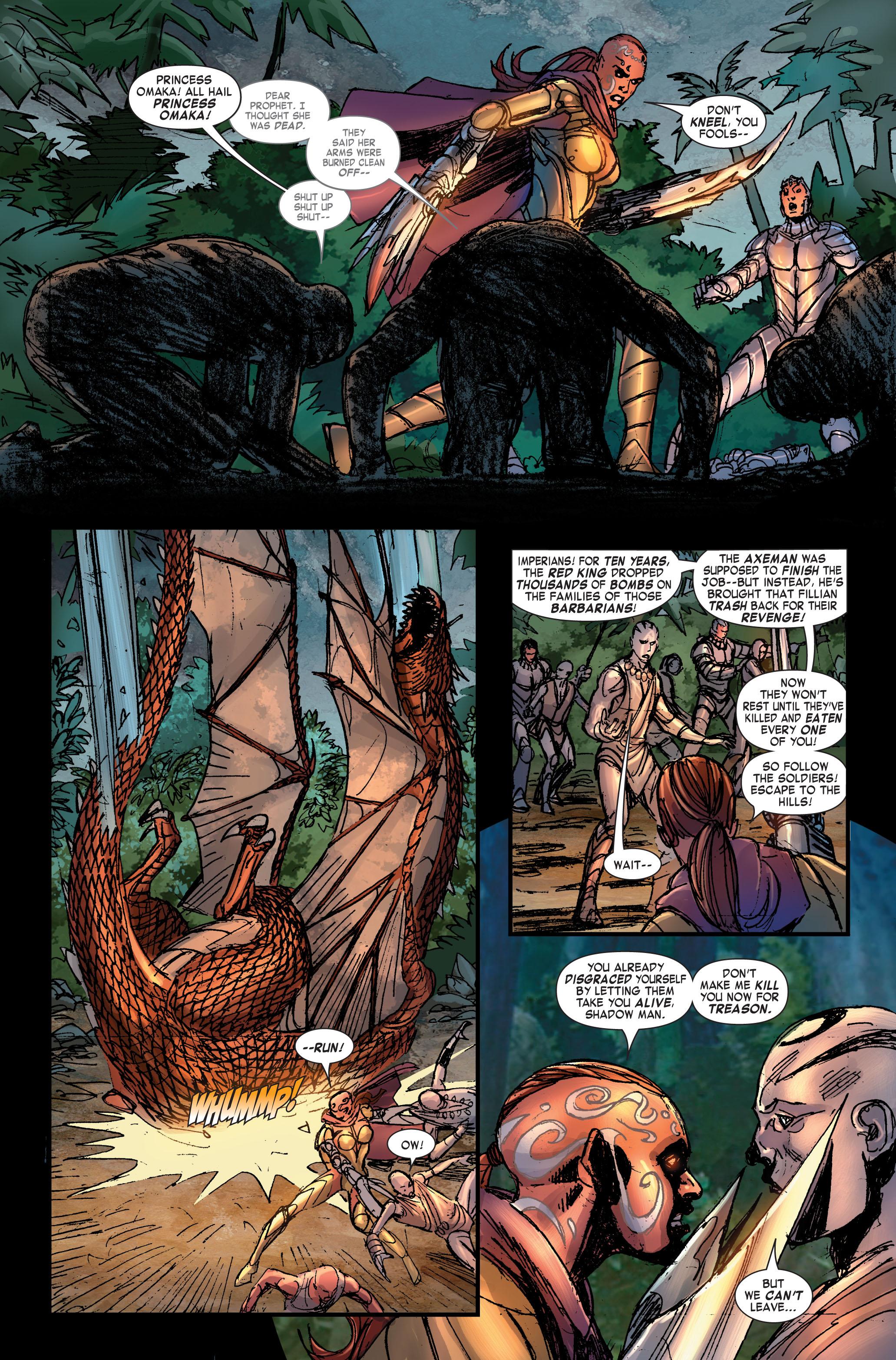 Read online Skaar: Son of Hulk comic -  Issue #2 - 11