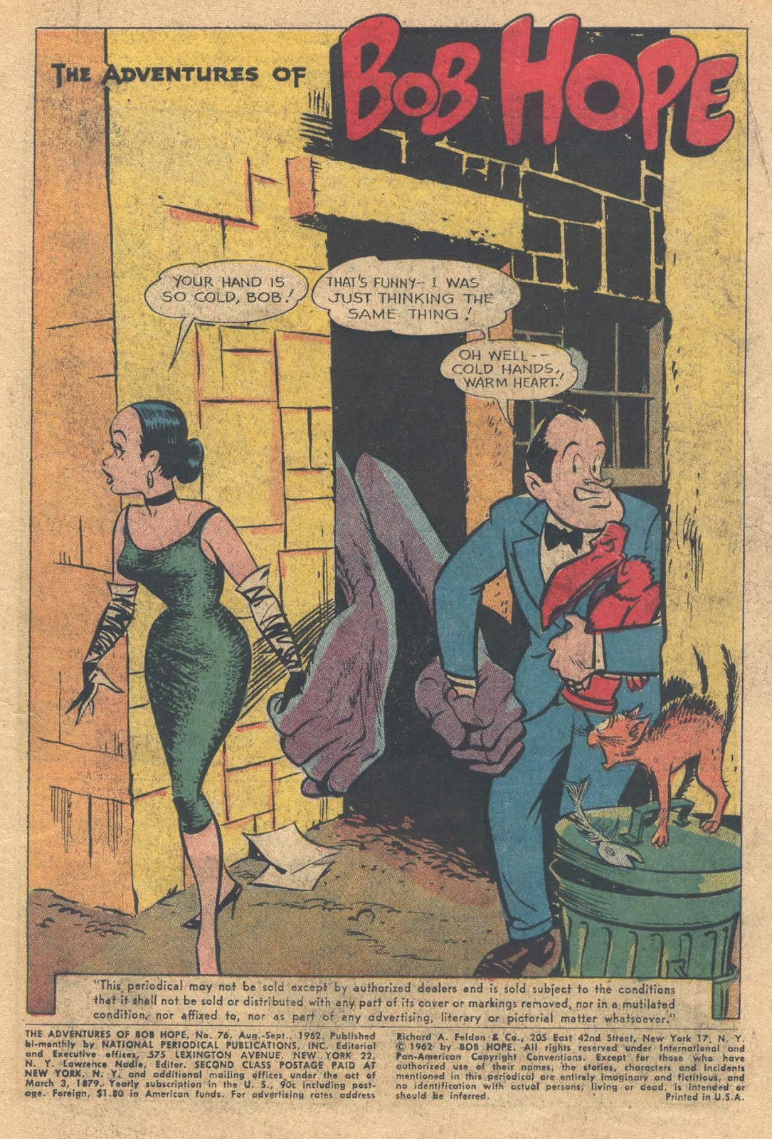The Adventures of Bob Hope issue 76 - Page 3
