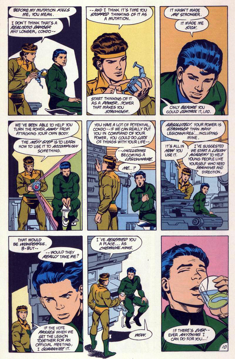 Legion of Super-Heroes (1984) 59 Page 10