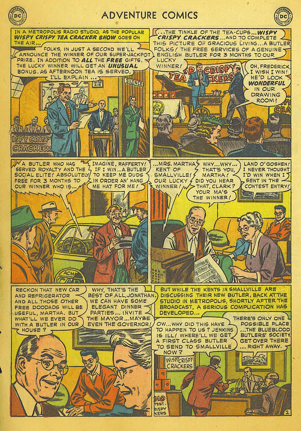 Read online Adventure Comics (1938) comic -  Issue #169 - 3