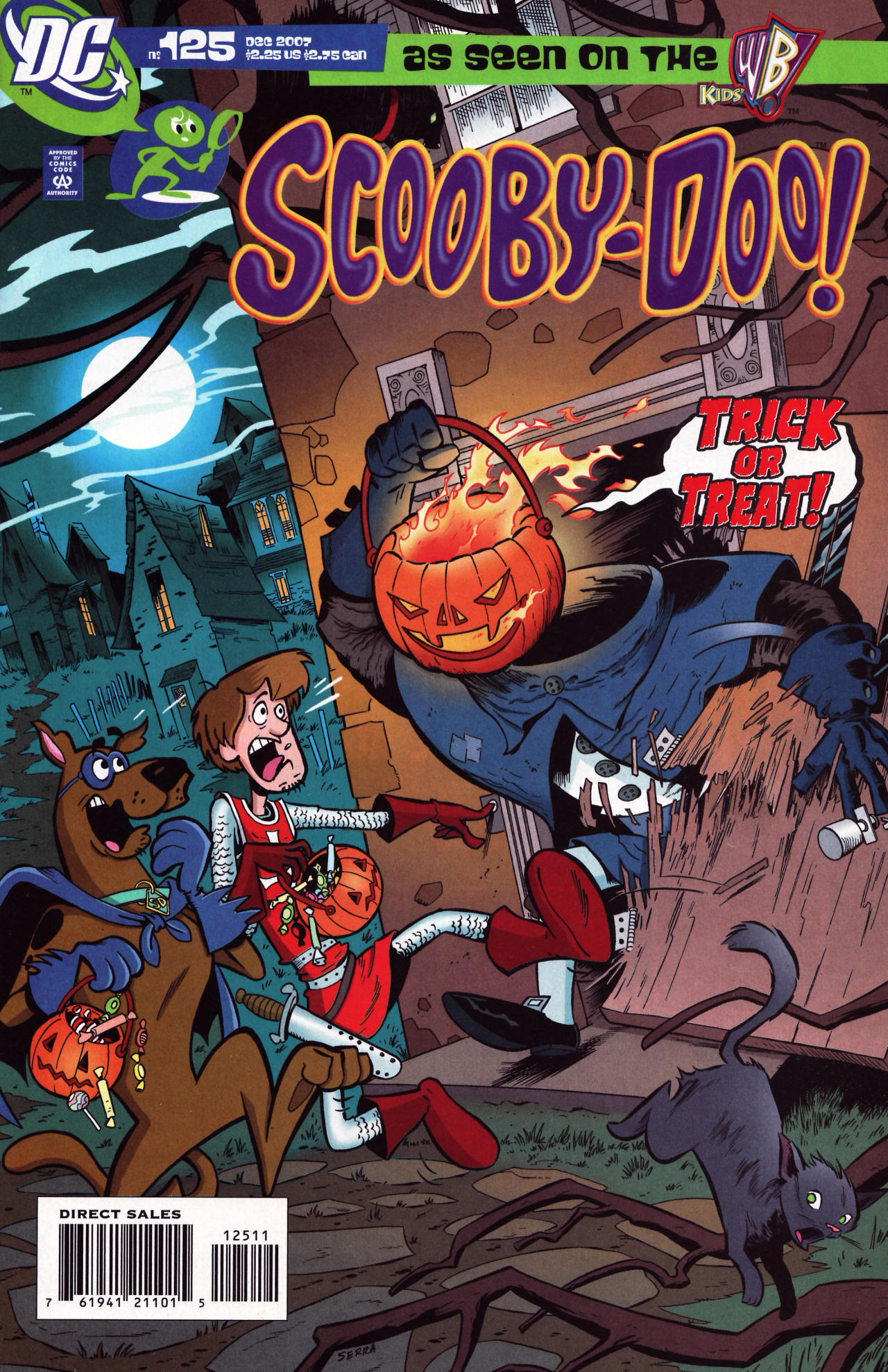 Read online Scooby-Doo (1997) comic -  Issue #125 - 1