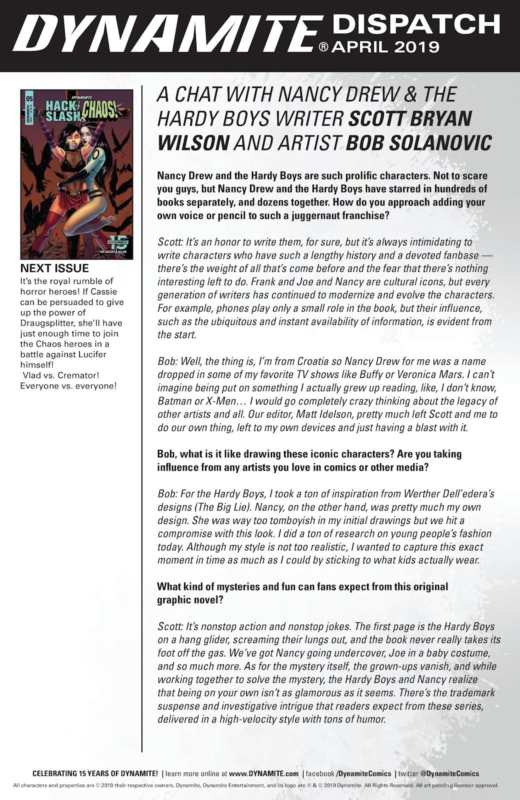 Read online Hack/Slash vs. Chaos comic -  Issue #4 - 25