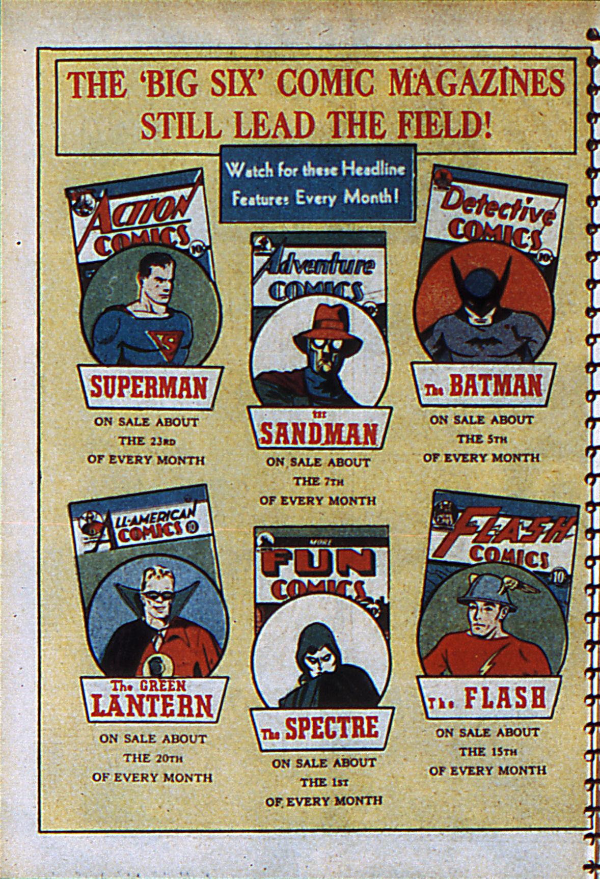 Read online Adventure Comics (1938) comic -  Issue #55 - 67