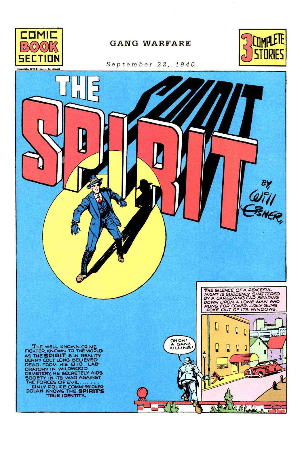 Read online Will Eisner's The Spirit Archives comic -  Issue # TPB 1 (Part 2) - 14