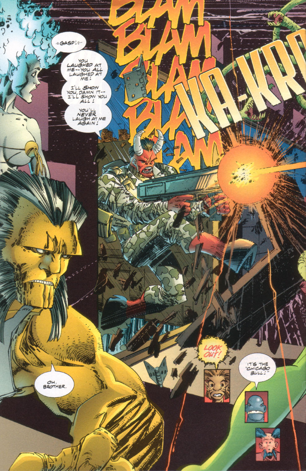 The Savage Dragon (1993) Issue #24 #27 - English 5