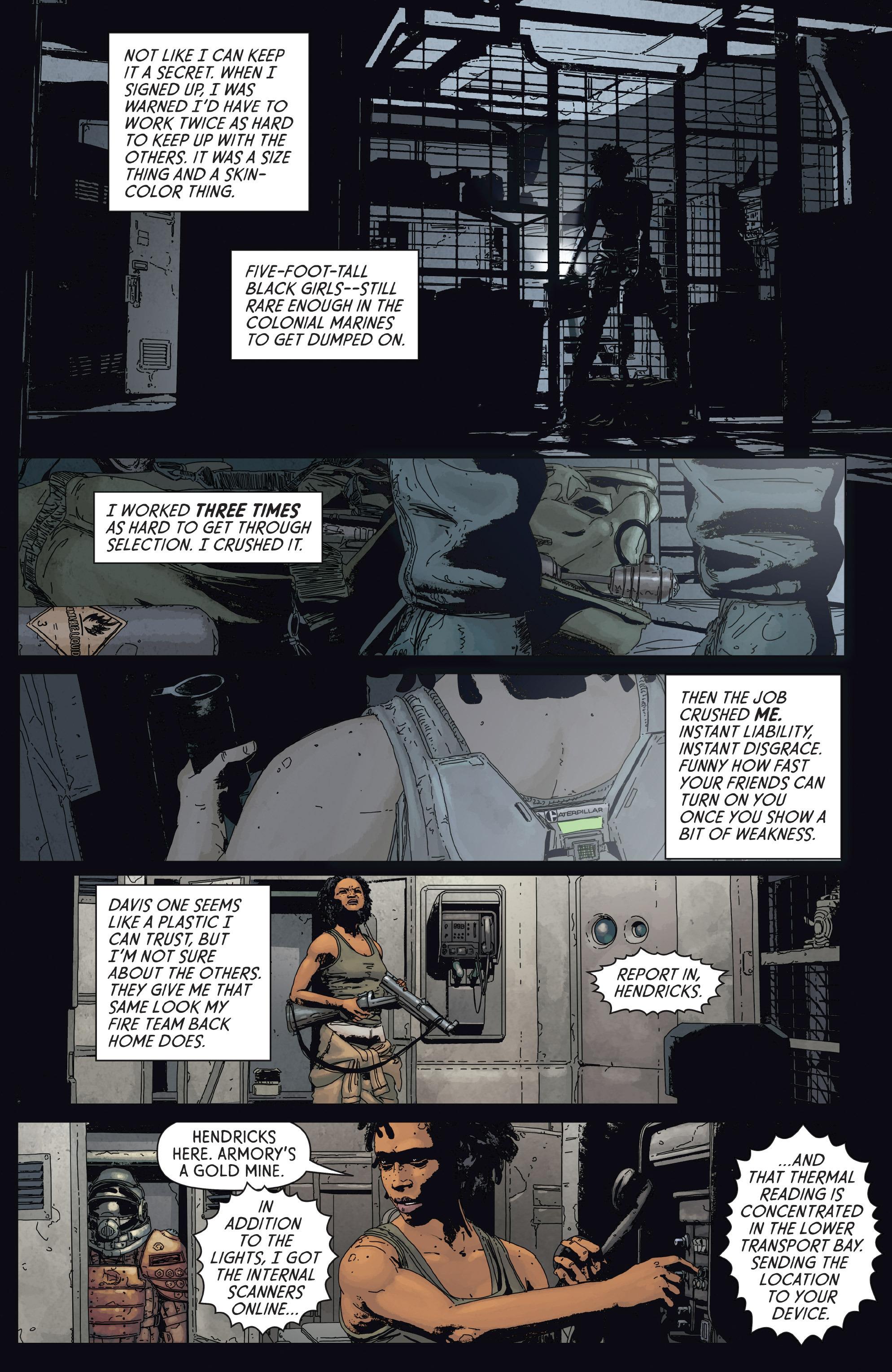 Read online Aliens: Defiance comic -  Issue #2 - 13