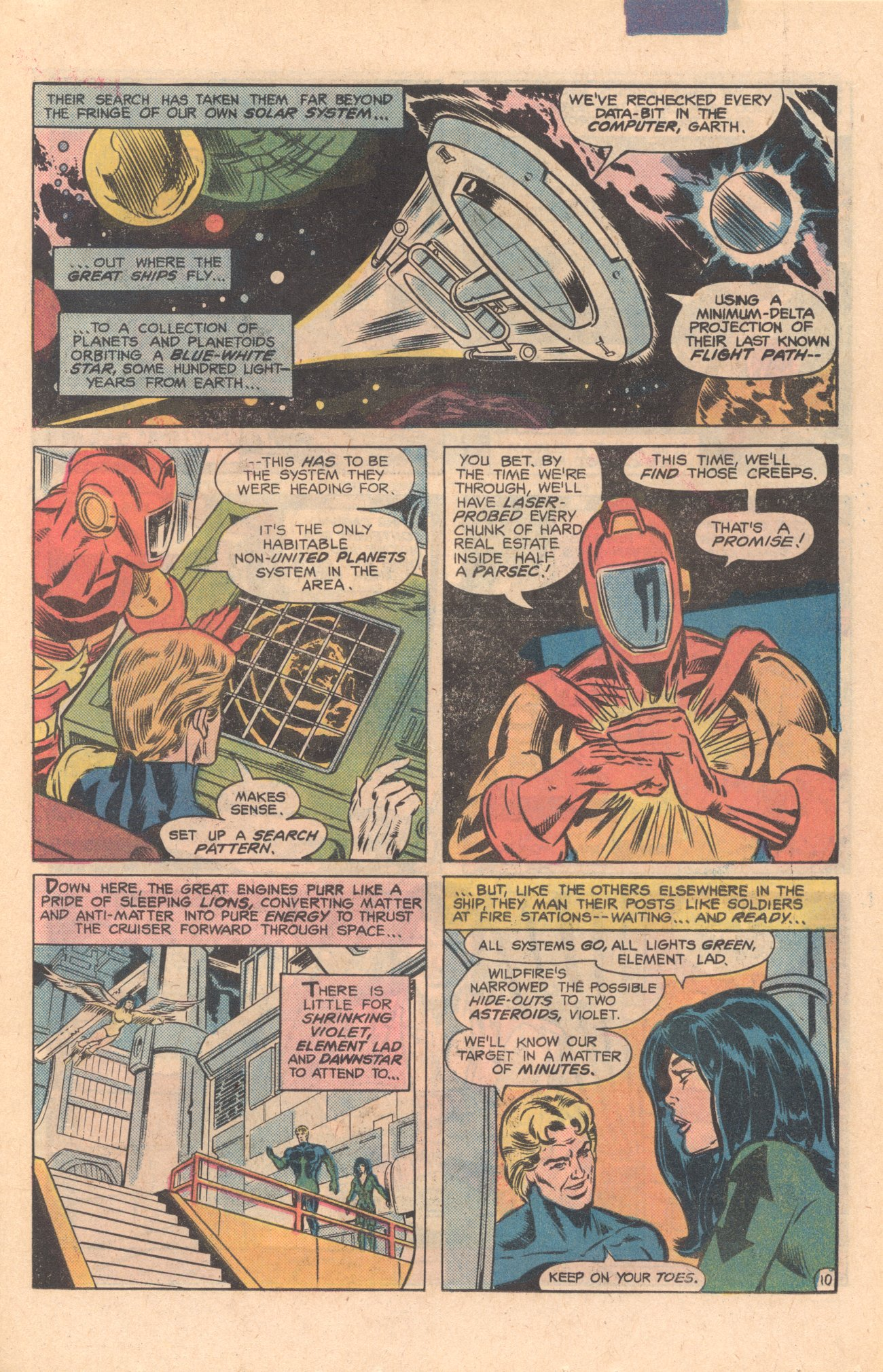 Legion of Super-Heroes (1980) 275 Page 10