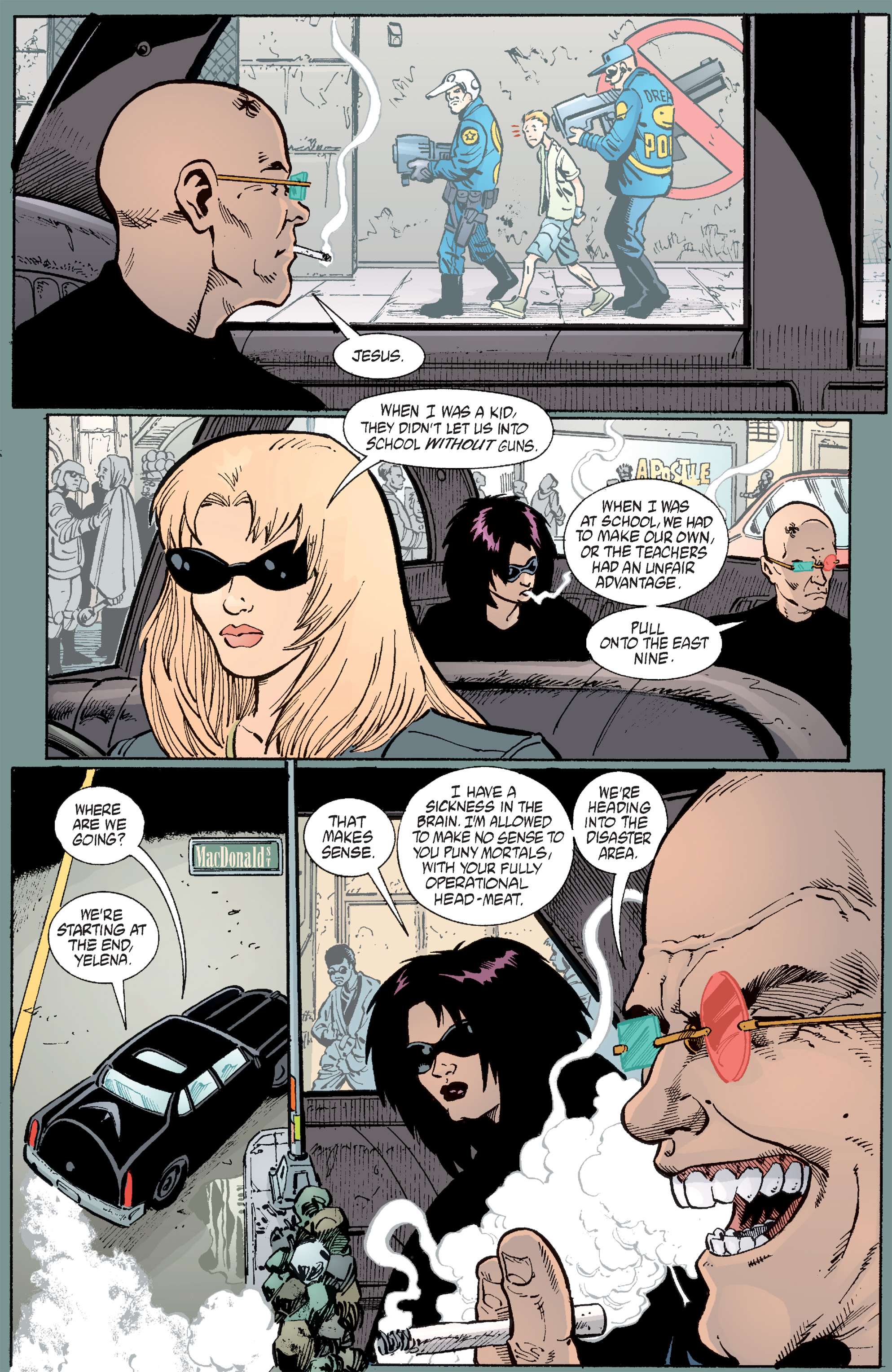 Read online Transmetropolitan comic -  Issue #49 - 7