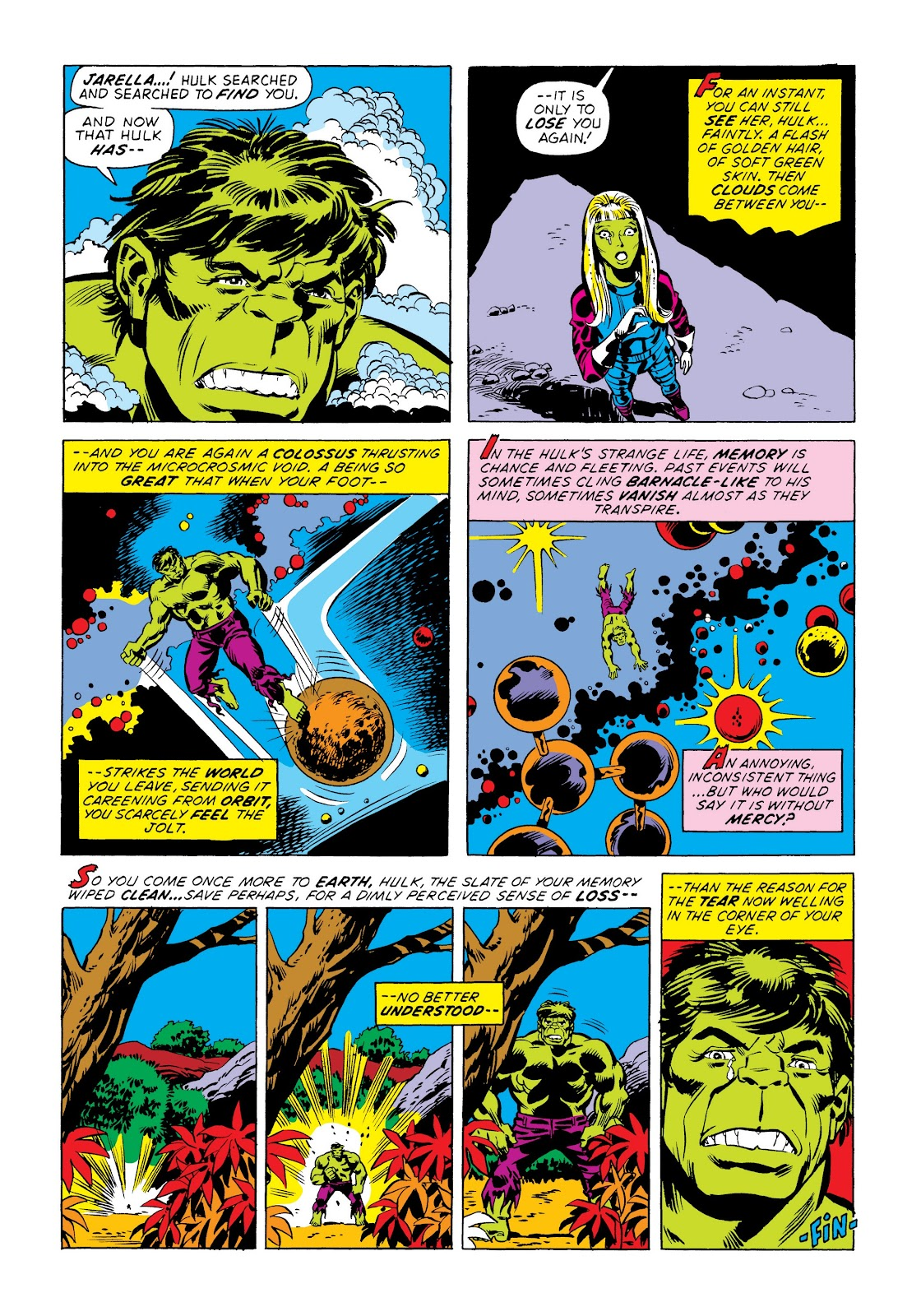 Read online Marvel Masterworks: The Incredible Hulk comic -  Issue # TPB 8 (Part 3) - 81