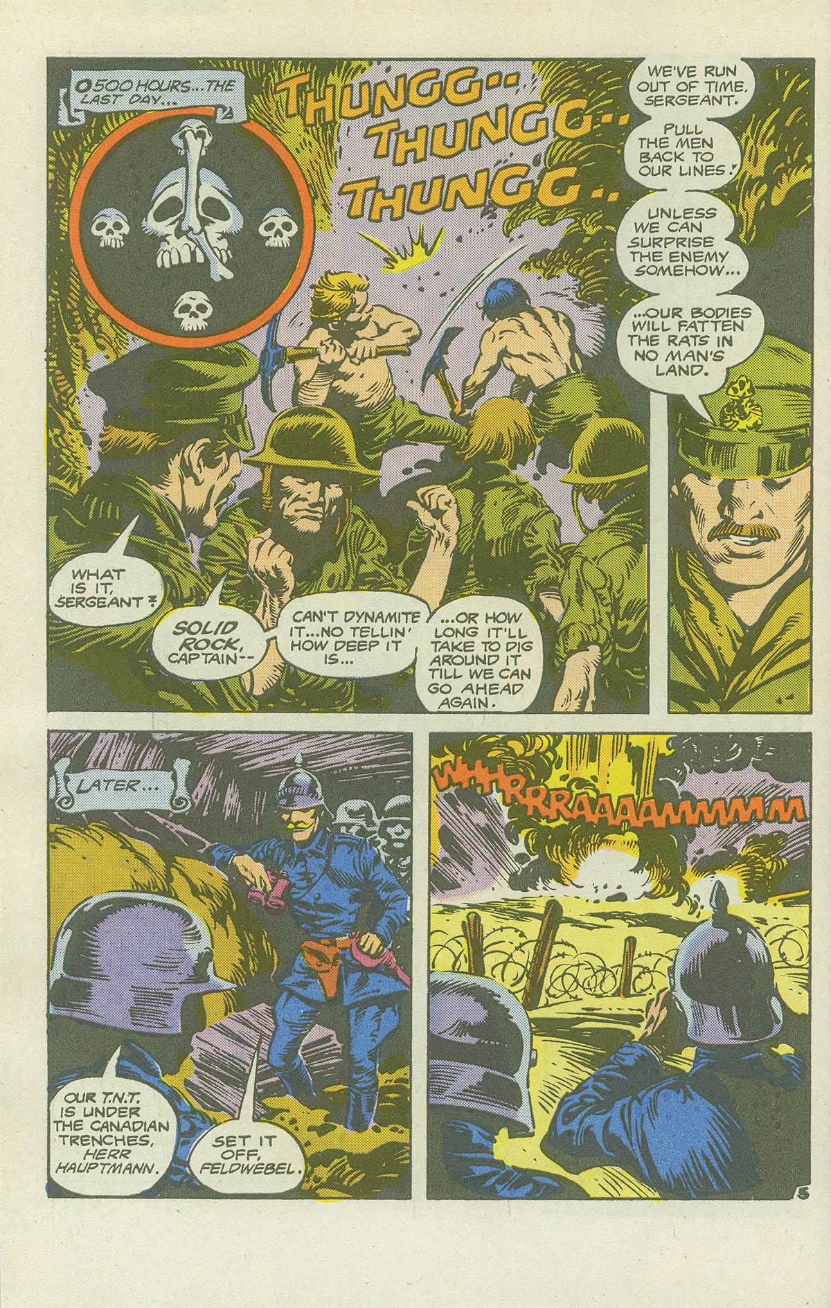 Read online Sgt. Rock comic -  Issue #415 - 29