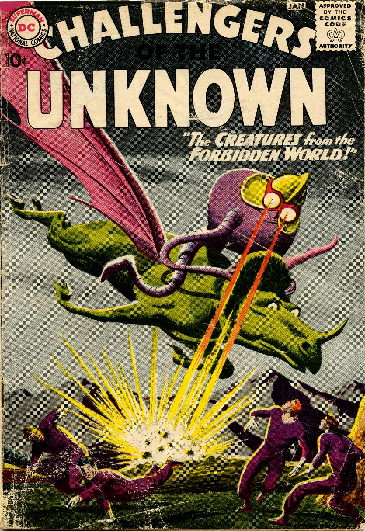 Challengers of the Unknown (1958) 11 Page 1