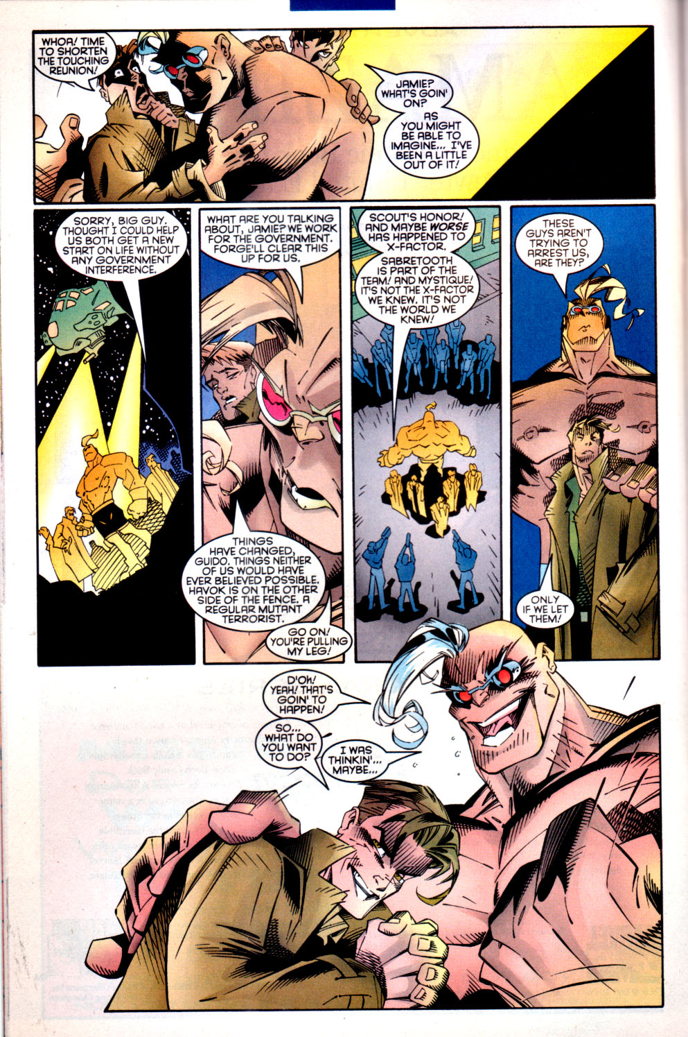 Read online X-Factor (1986) comic -  Issue #135 - 18