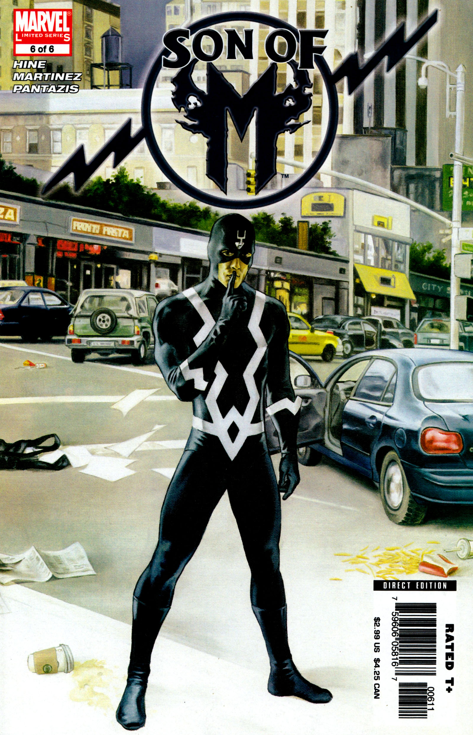 Read online Son of M comic -  Issue #6 - 1