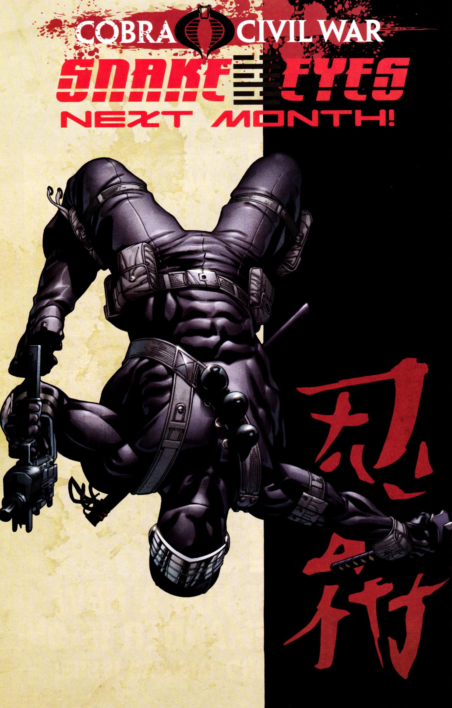 Read online G.I. Joe: Snake Eyes comic -  Issue #2 - 27