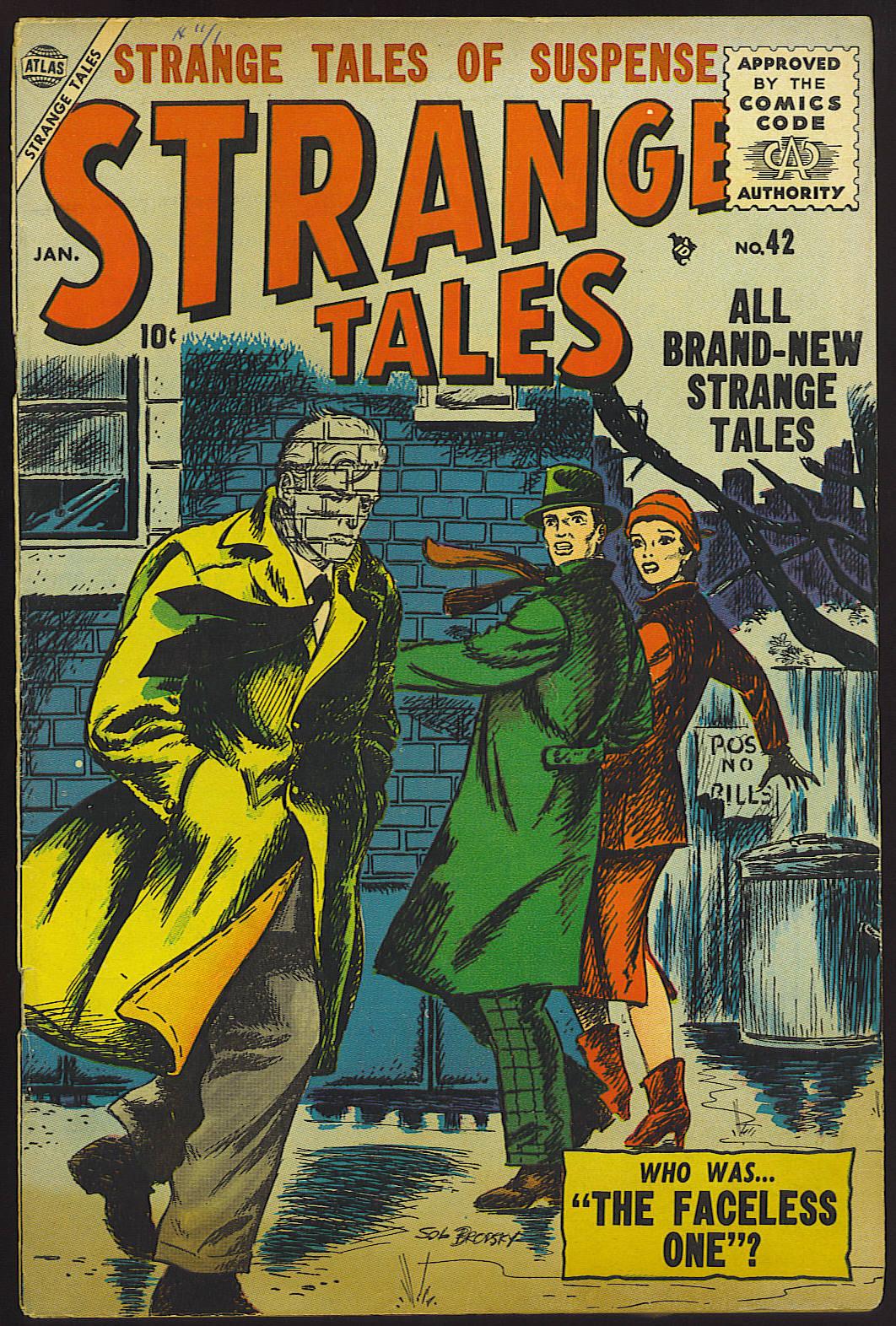 Strange Tales (1951) 42 Page 1