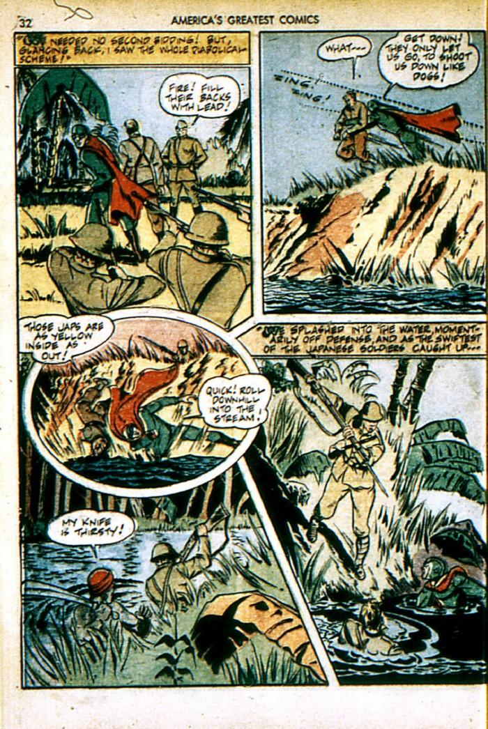 Read online America's Greatest Comics comic -  Issue #4 - 32