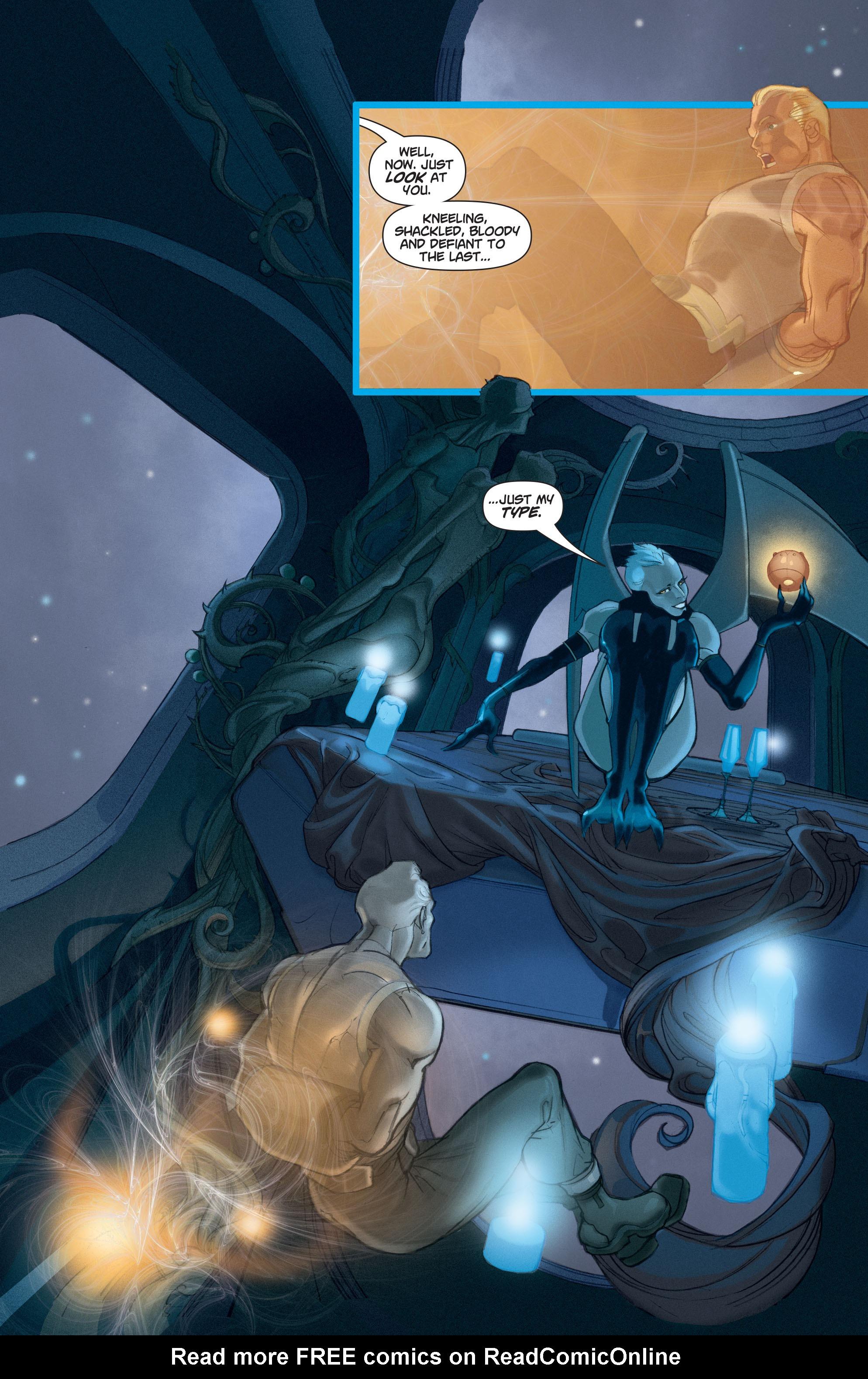 Read online Adam Strange (2004) comic -  Issue #4 - 3