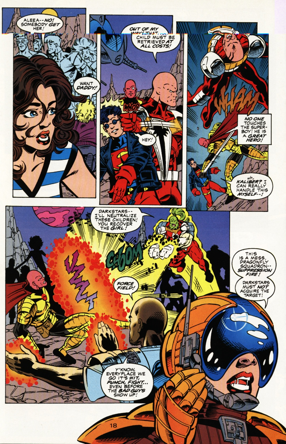 Read online Superboy & The Ravers comic -  Issue #3 - 19