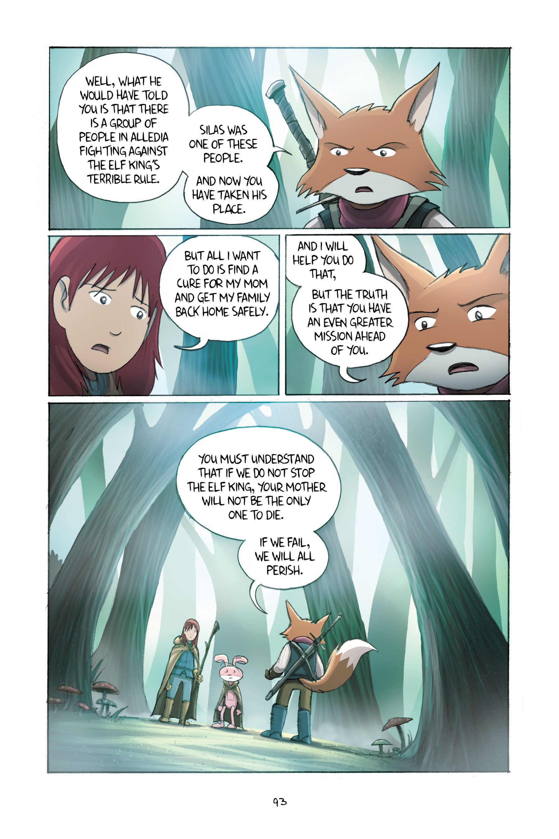 Read online Amulet comic -  Issue #2 - 93
