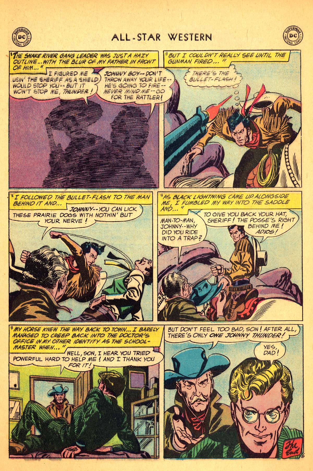 Read online All-Star Western (1951) comic -  Issue #99 - 32