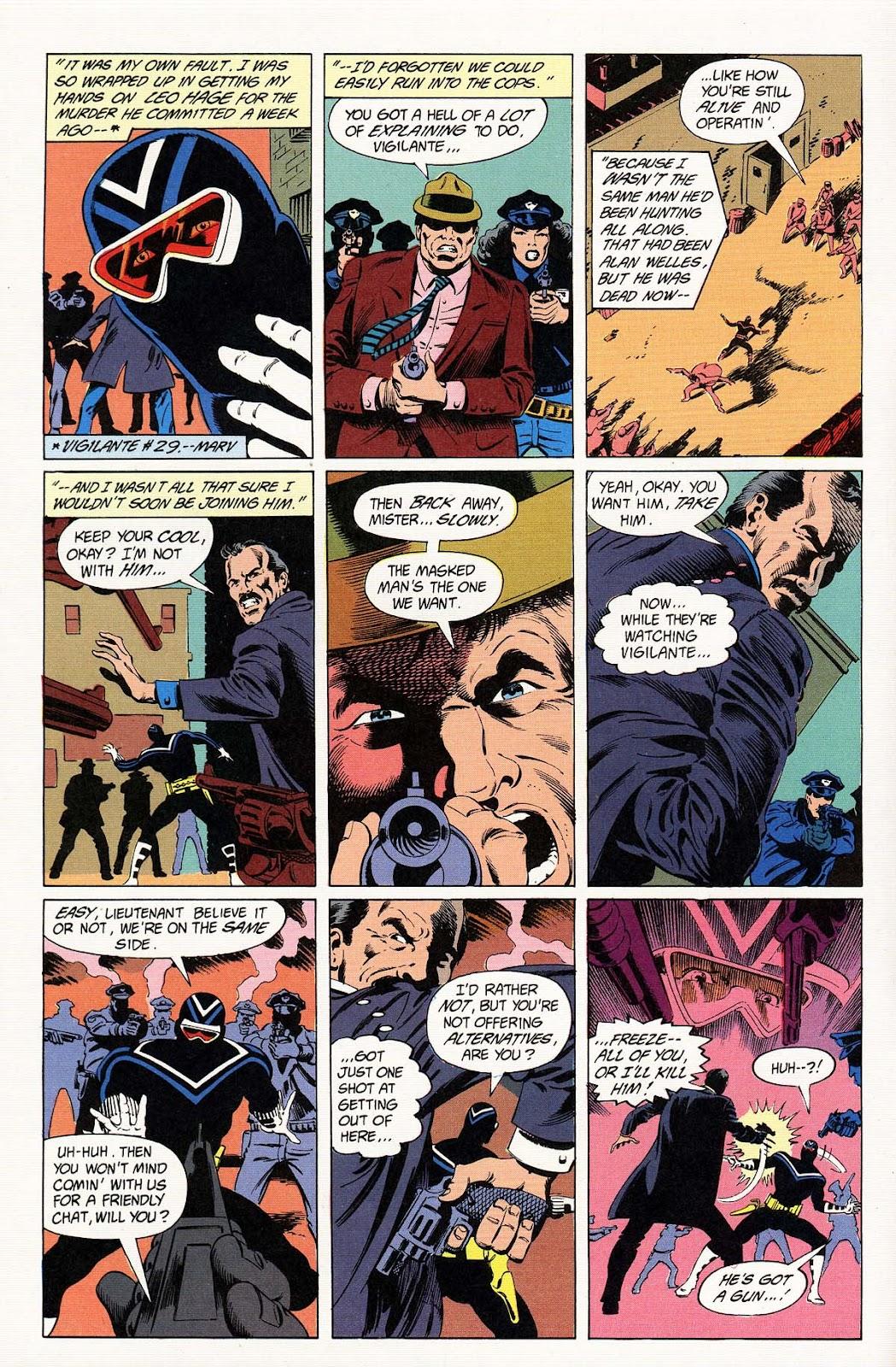 Vigilante (1983) issue 32 - Page 8
