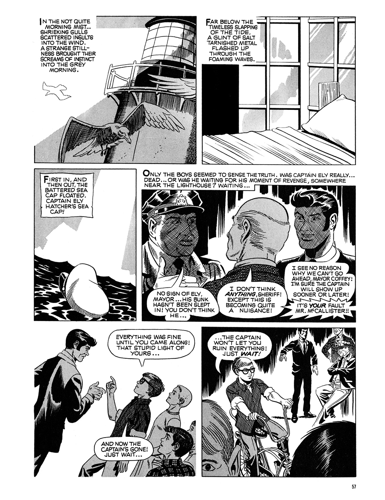 Read online Eerie Archives comic -  Issue # TPB 5 - 58