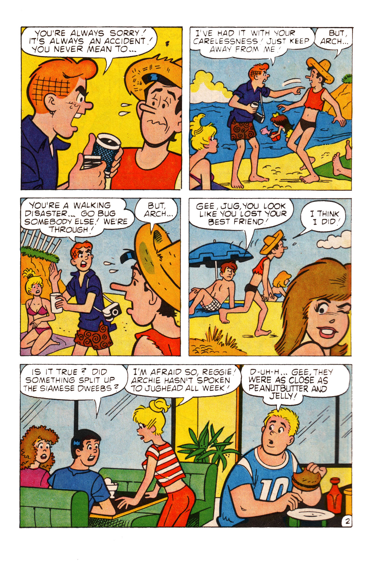Read online Archie (1960) comic -  Issue #360 - 4
