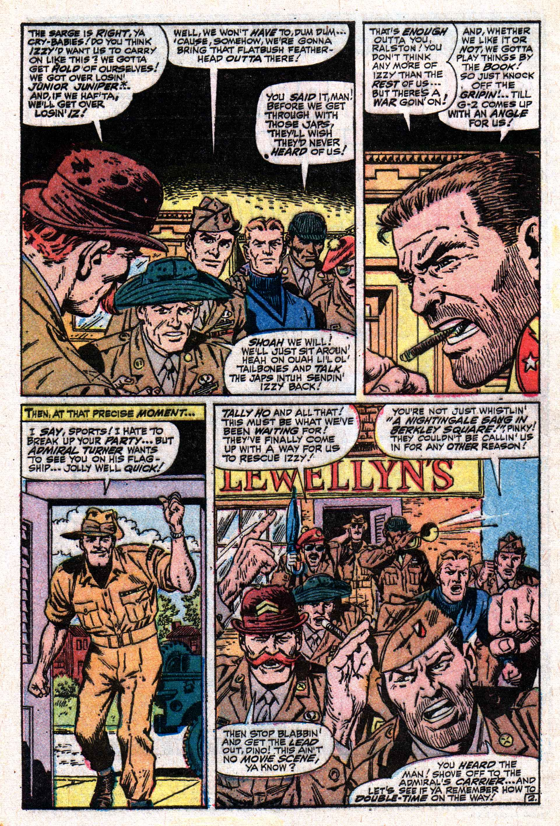 Read online Sgt. Fury comic -  Issue #50 - 4