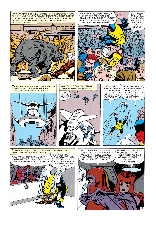 Read online Uncanny X-Men (1963) comic -  Issue #5 - 17