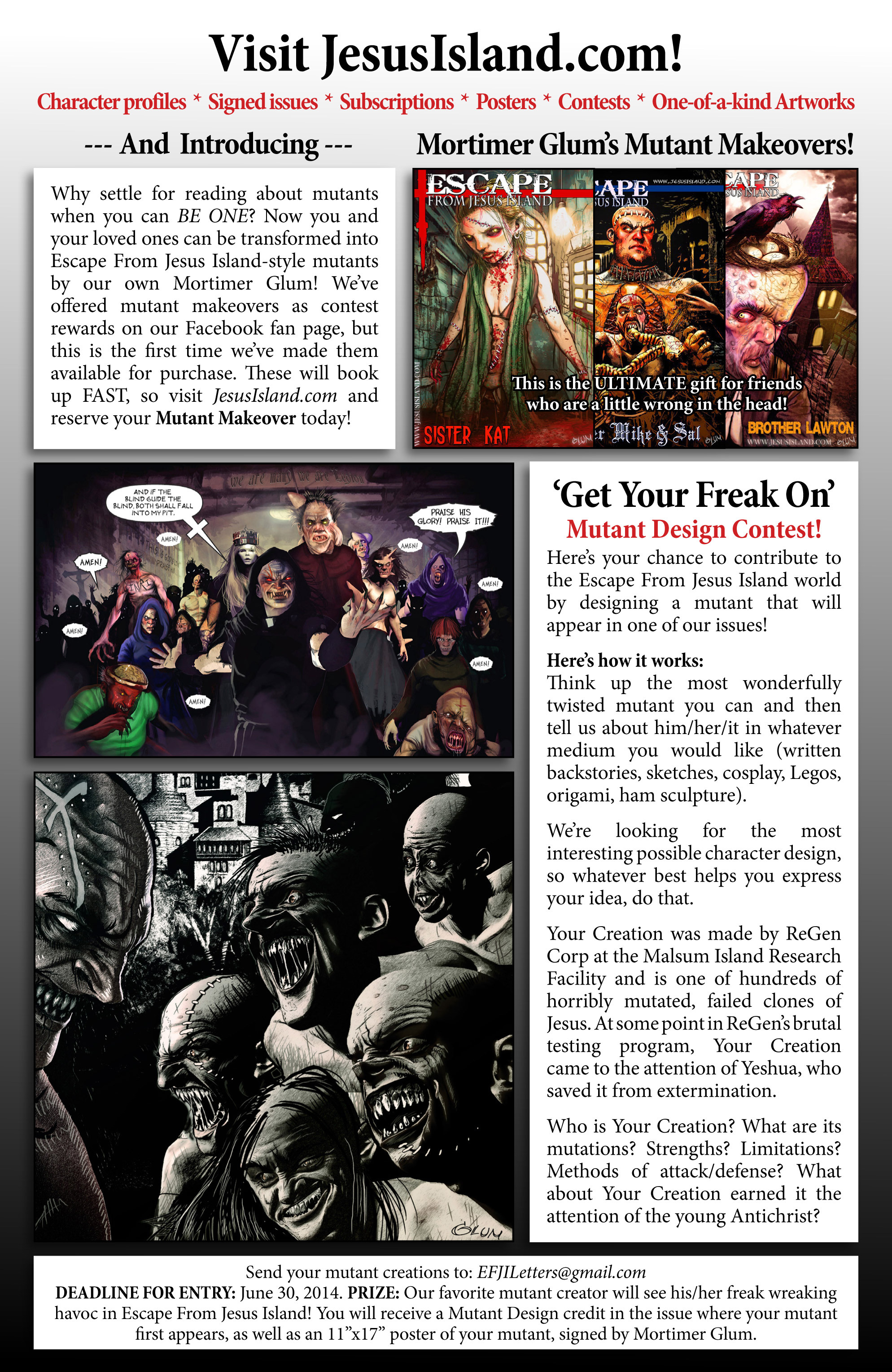 Read online Escape from Jesus Island comic -  Issue #2 - 35