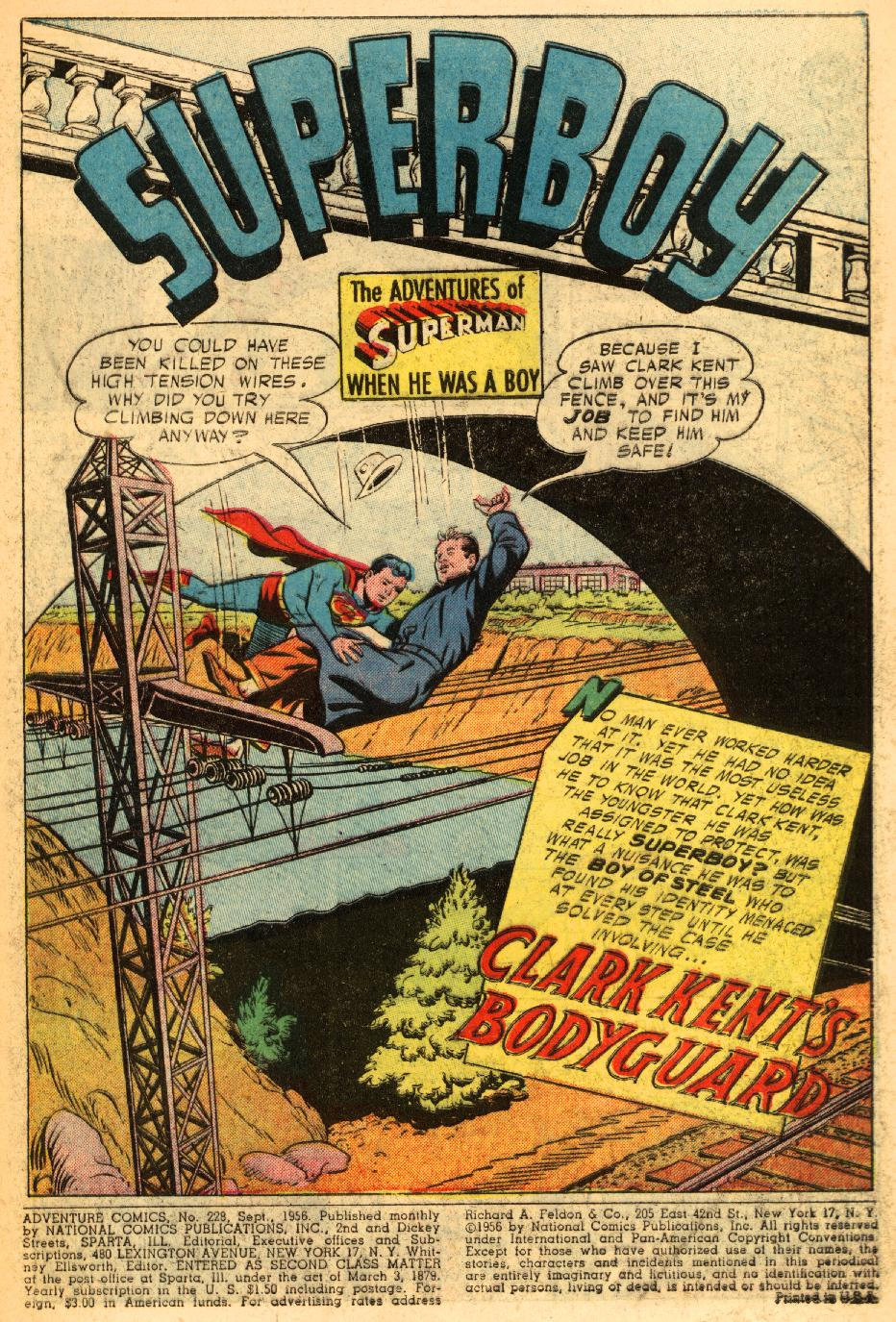 Read online Adventure Comics (1938) comic -  Issue #228 - 3