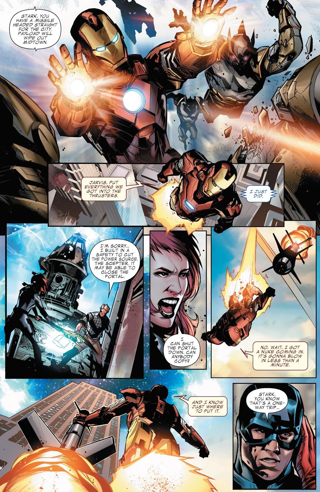 Read online Marvel's The Avengers comic -  Issue #2 - 16