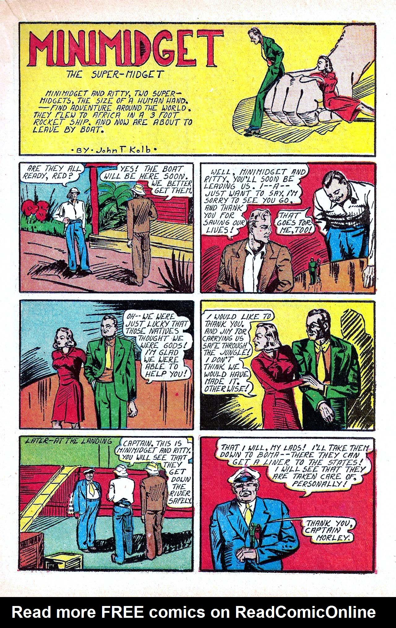 Read online Amazing Man Comics comic -  Issue #11 - 29