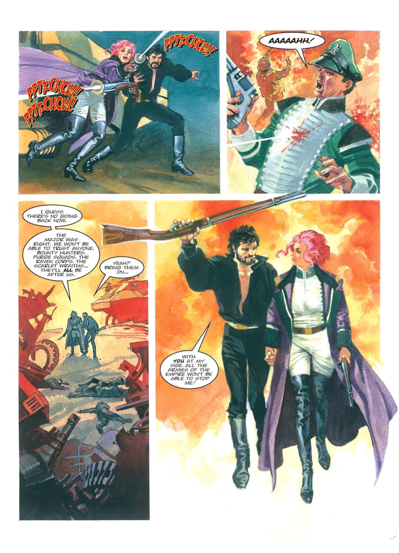 Read online Nikolai Dante comic -  Issue # TPB 9 - 101